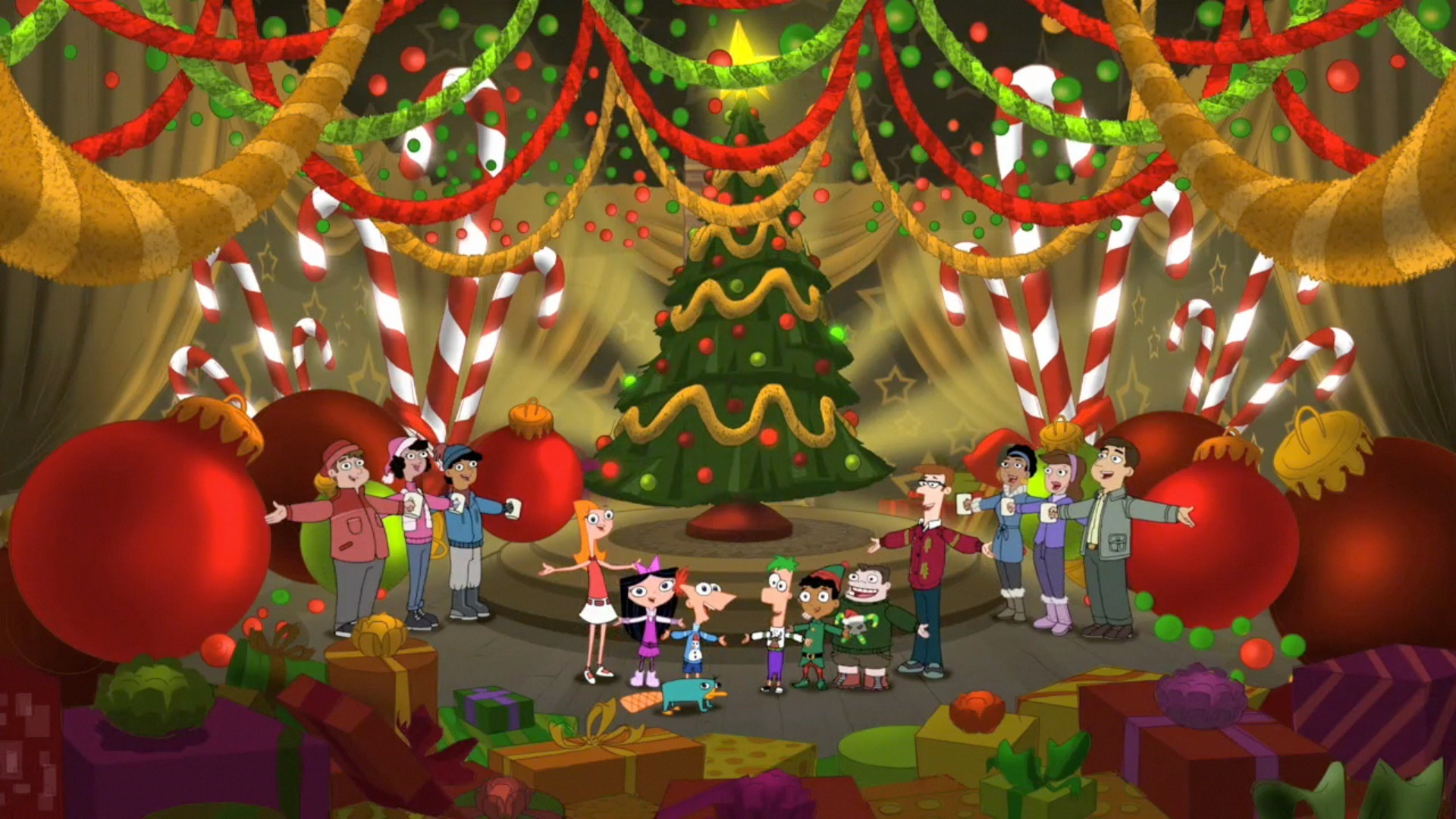 Image - We wish you a merry christmas 35.jpg | Phineas and Ferb Wiki ...