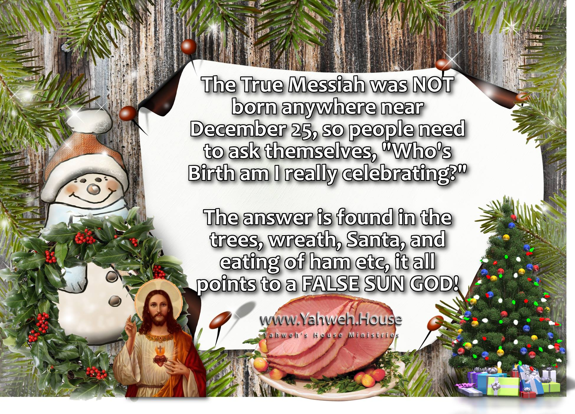 Origins of Christmas – Yahweh's House Ministries