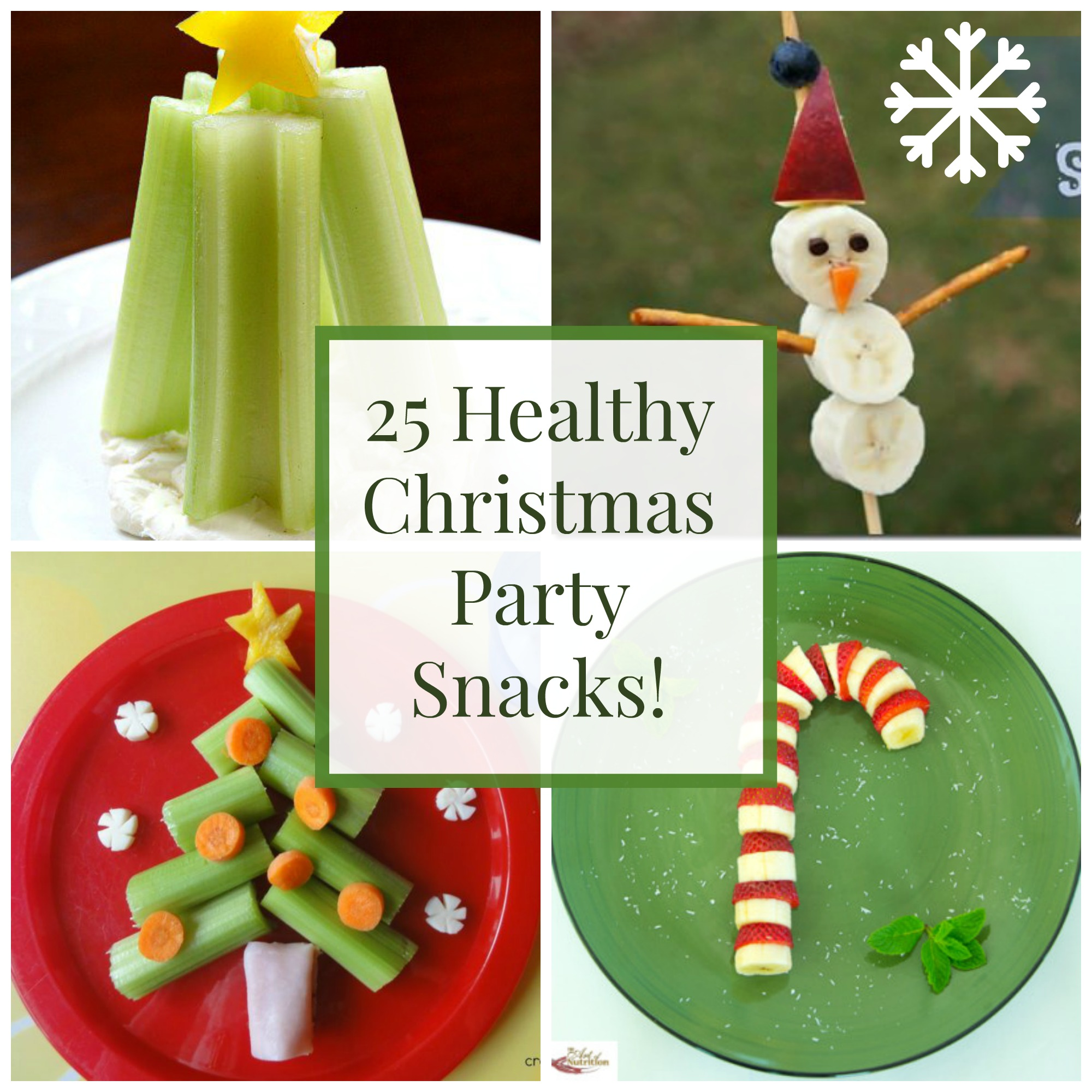 25 Healthy Christmas Snacks and Party Foods | Healthy Ideas for Kids