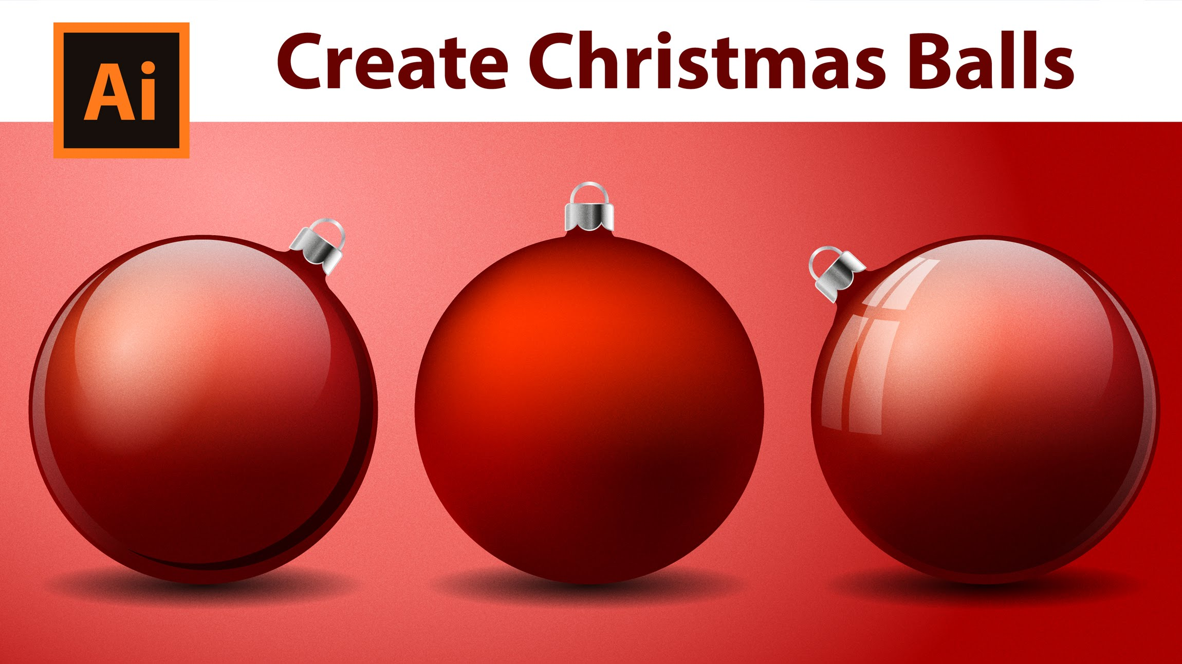 Illustrator Tutorial - How to create Christmas Balls - YouTube