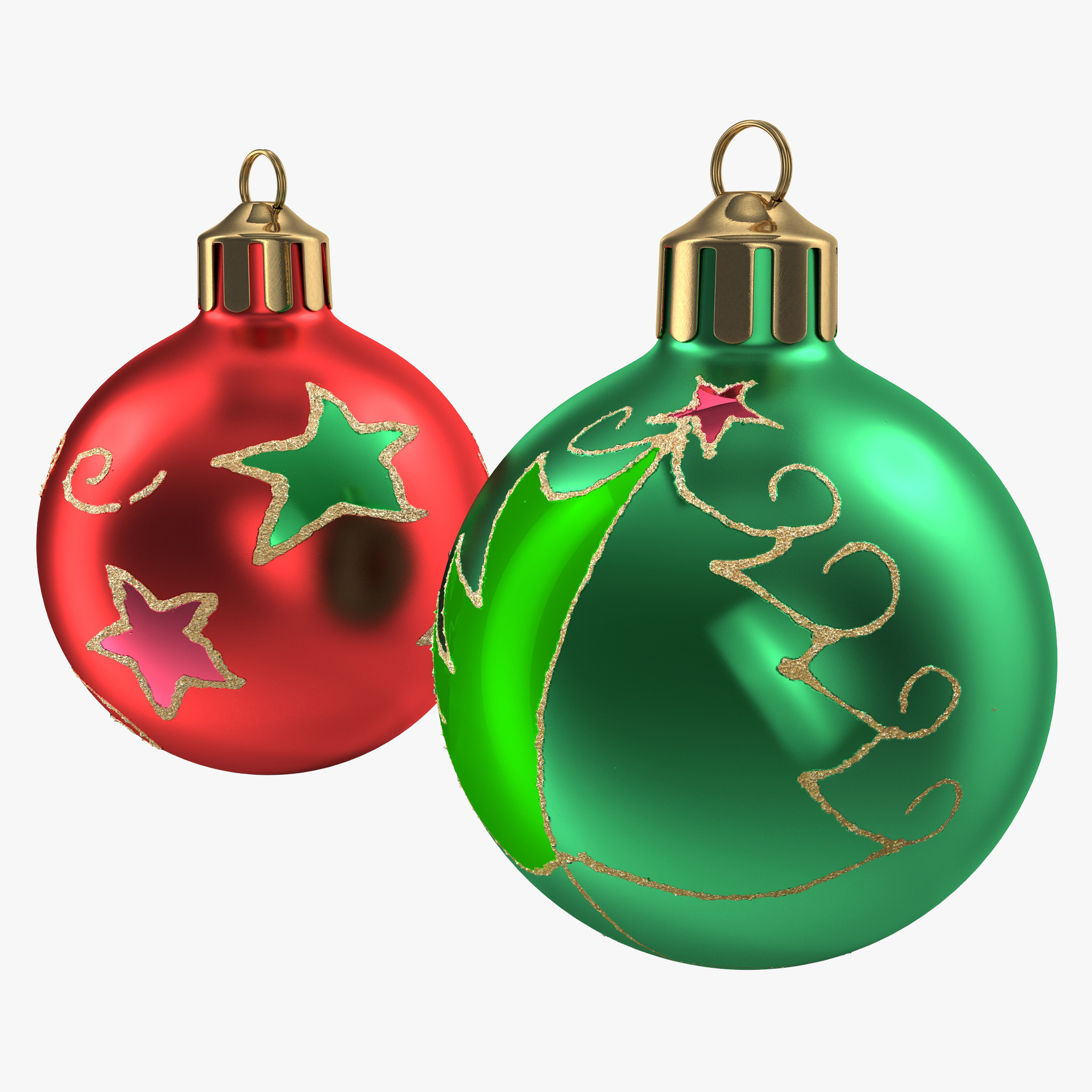 Christmas Ornament Balls – Happy Holidays!