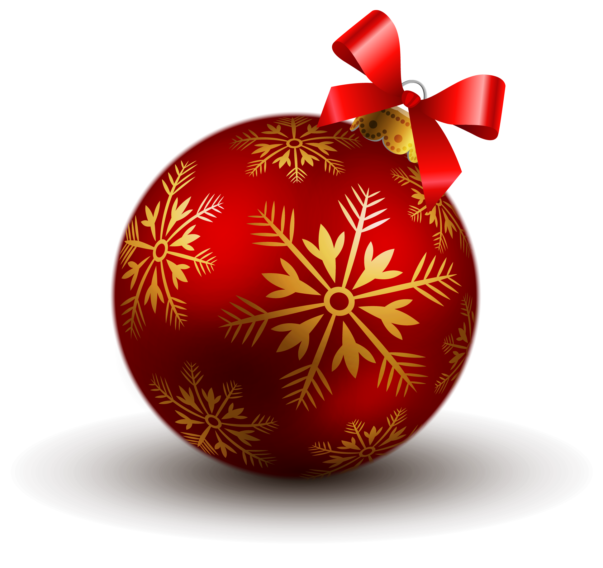Transparent Red Christmas Ball PNG Clipart | Gallery Yopriceville ...