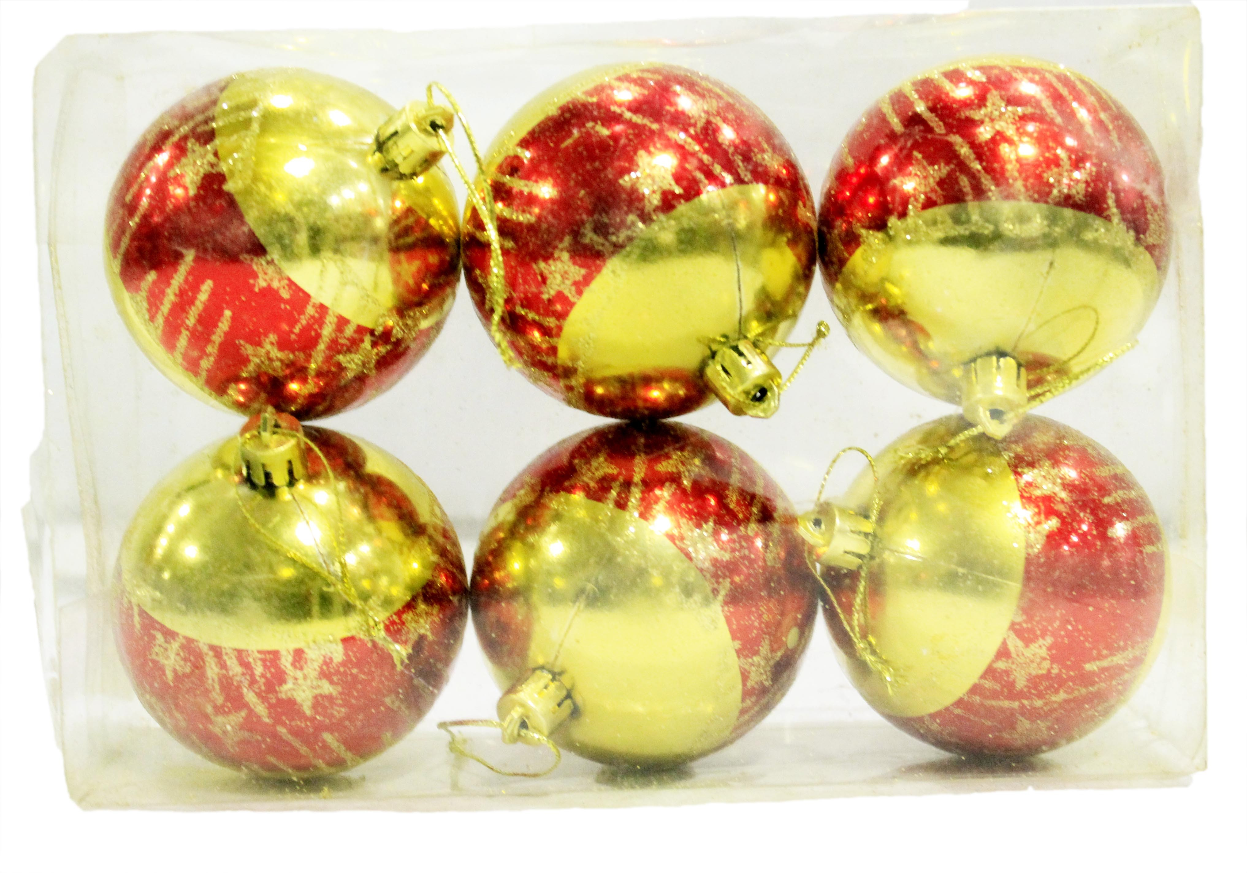 Lovely colored Christmas Balls