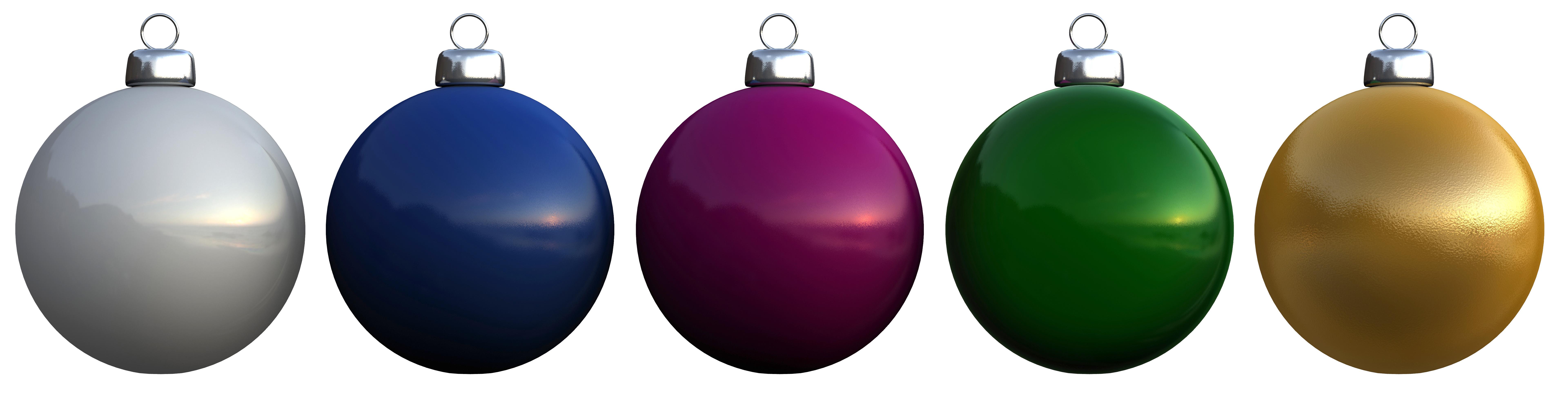 3D model Christmas balls | CGTrader