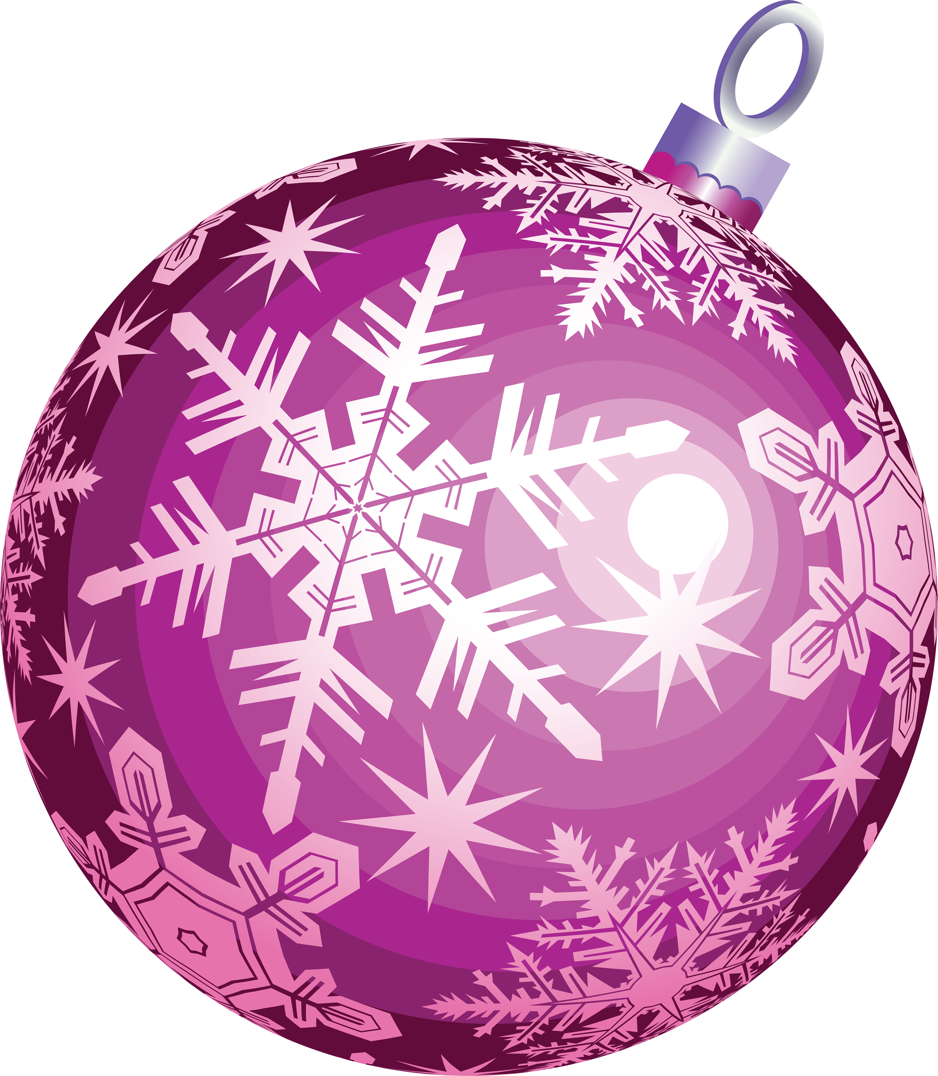 Christmas Ball Ornament Two | Isolated Stock Photo by noBACKS.com