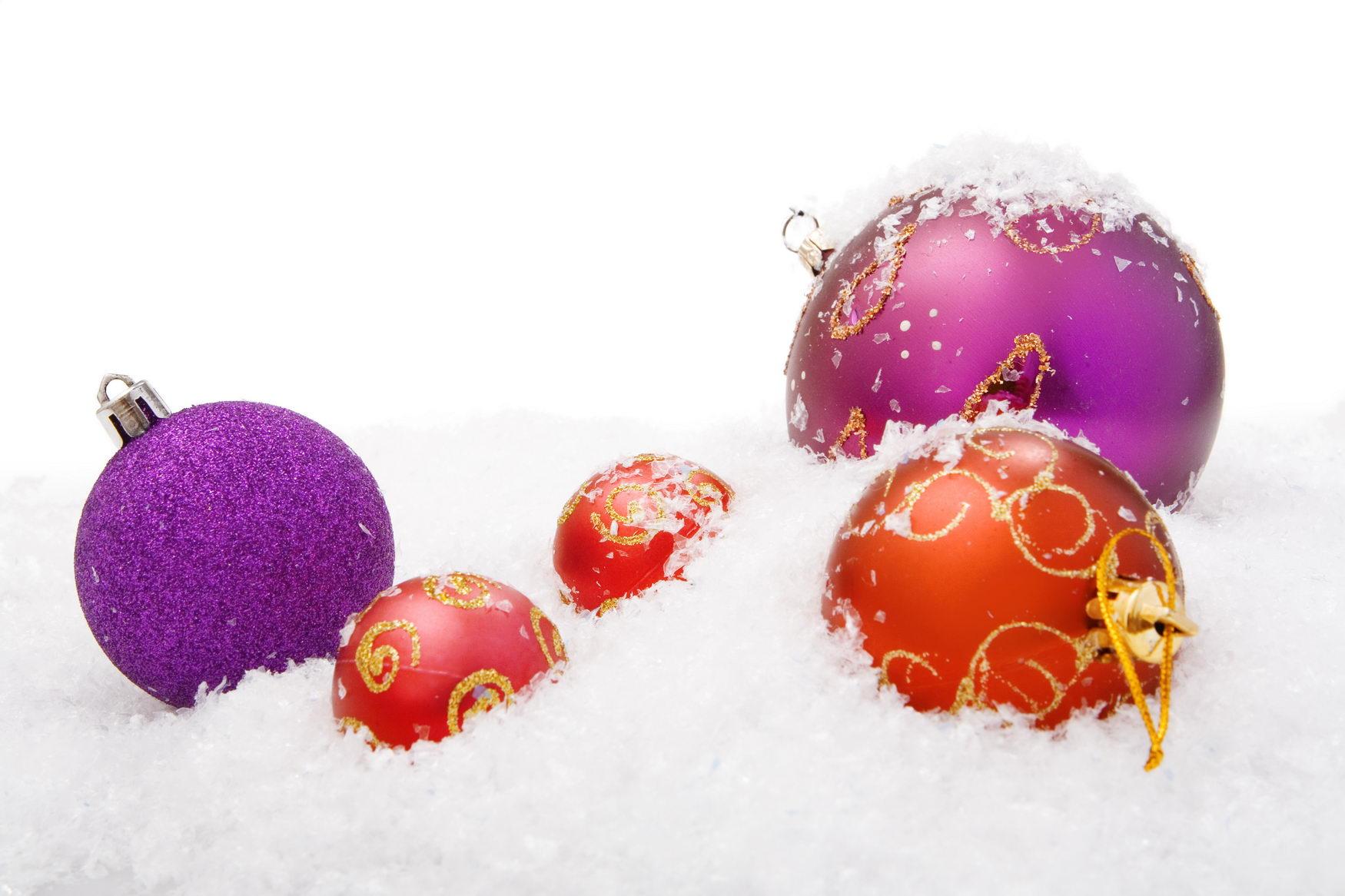 christmas balls, Ball, Shine, Ornament, Red, HQ Photo