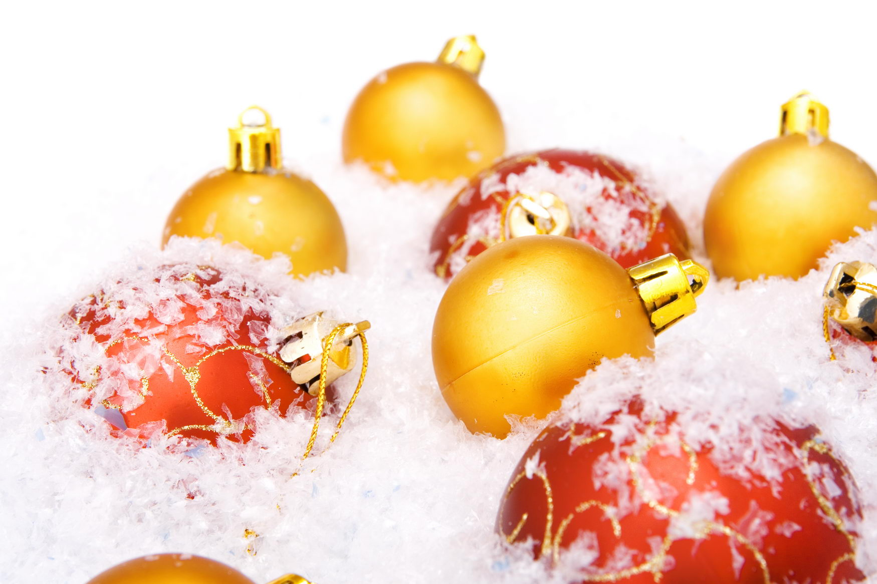 christmas balls, Ball, Shine, Ornament, Red, HQ Photo