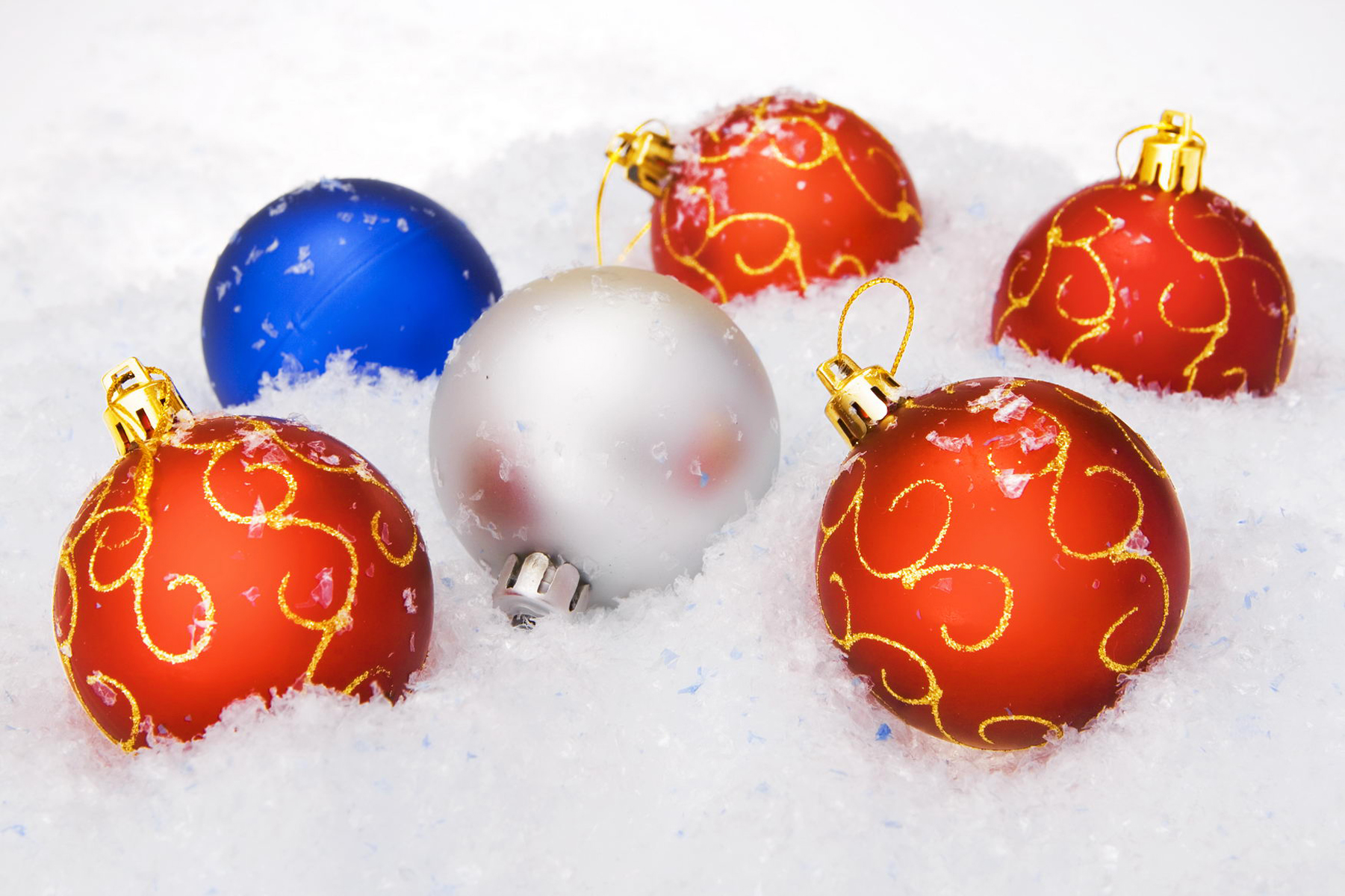 Christmas balls, Ball, Merry, Winter, White, HQ Photo