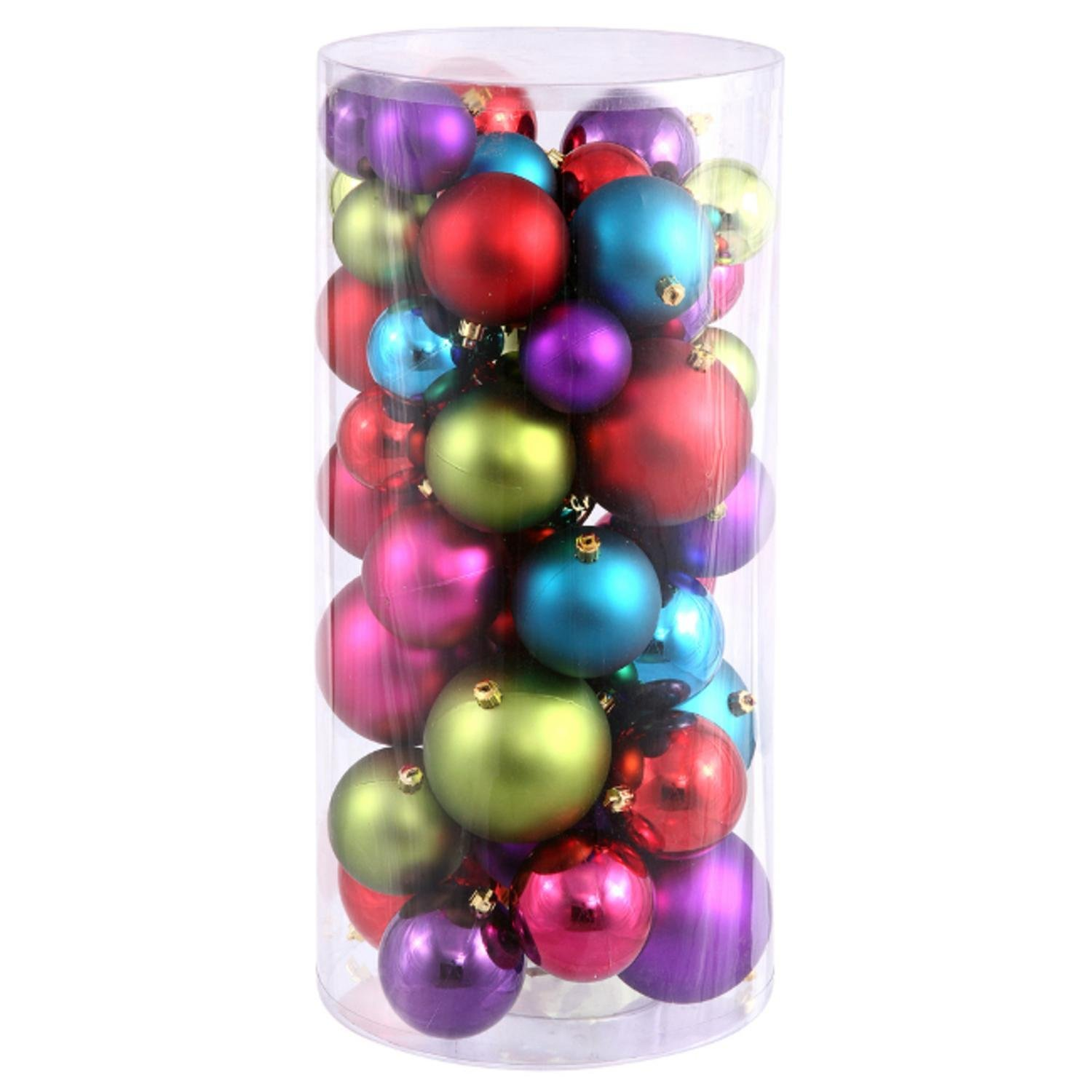 Colorful christmas balls photo