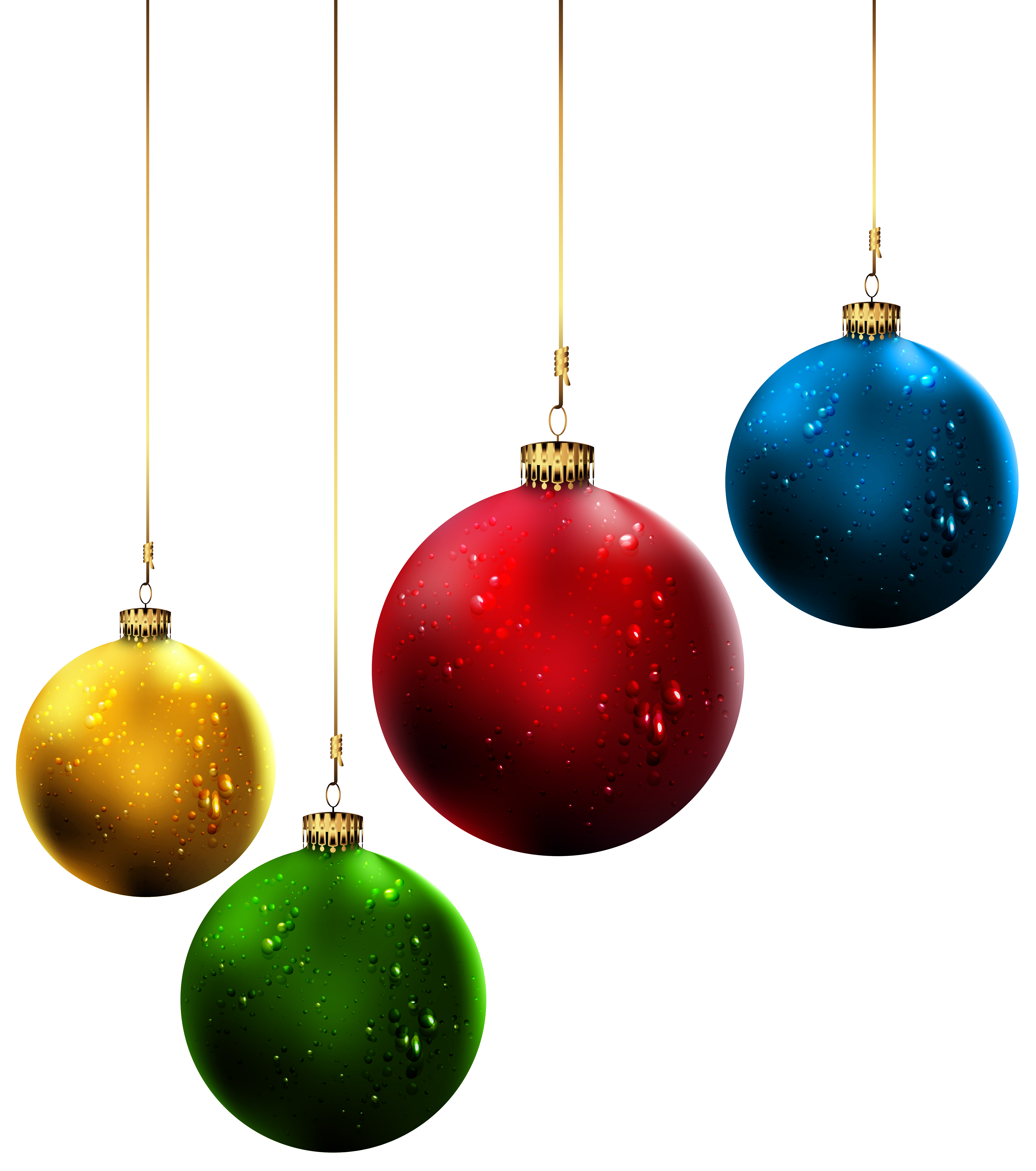Christmas Balls PNG Clip-Art Image | Gallery Yopriceville - High ...