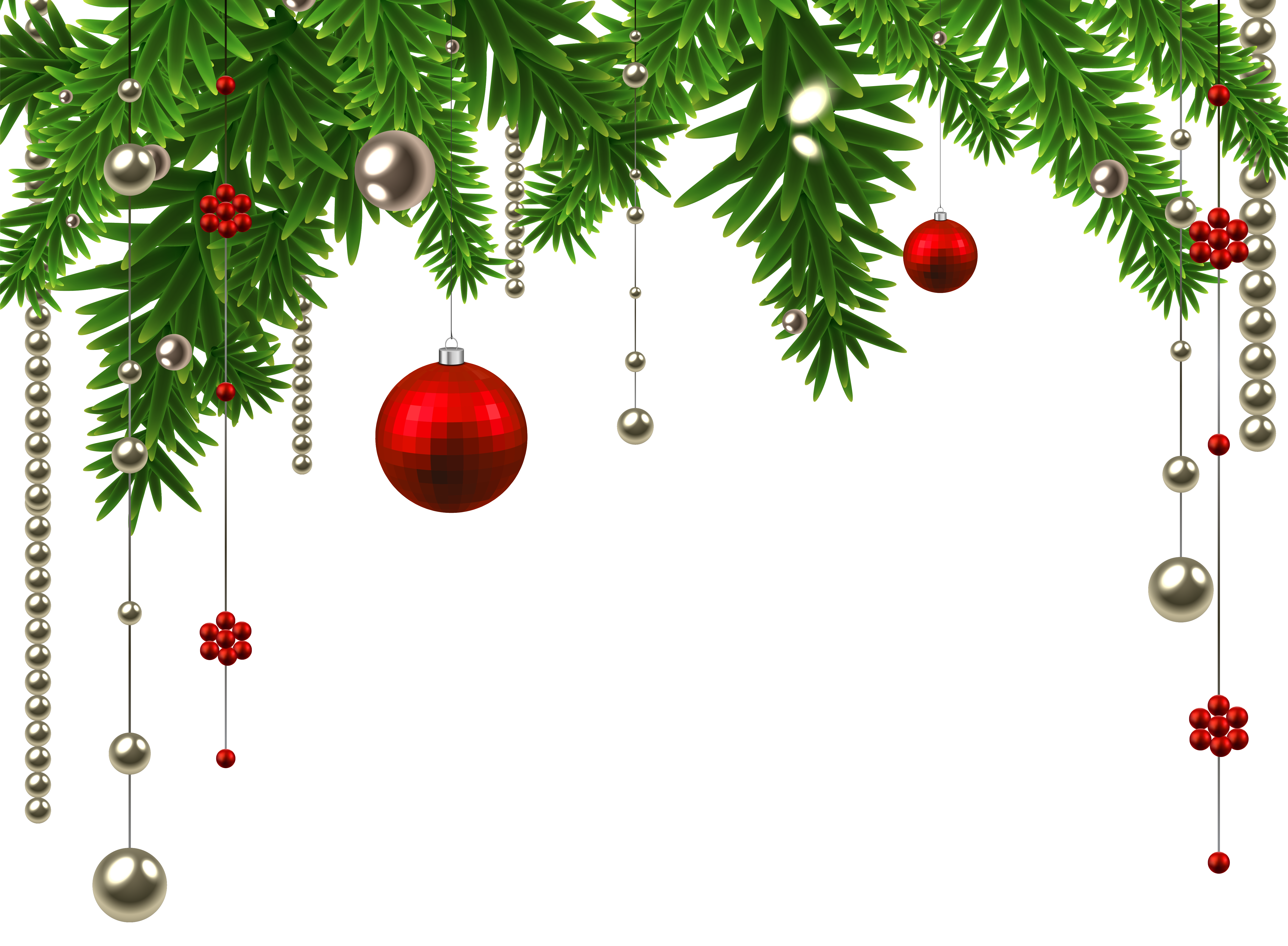 Christmas Hanging Ball Decoration Png Clipart Image Gallery Outdoor ...