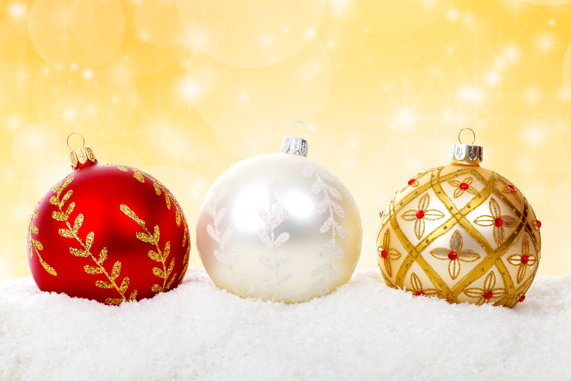 Colorful Christmas Balls Free Stock Photo - Public Domain Pictures