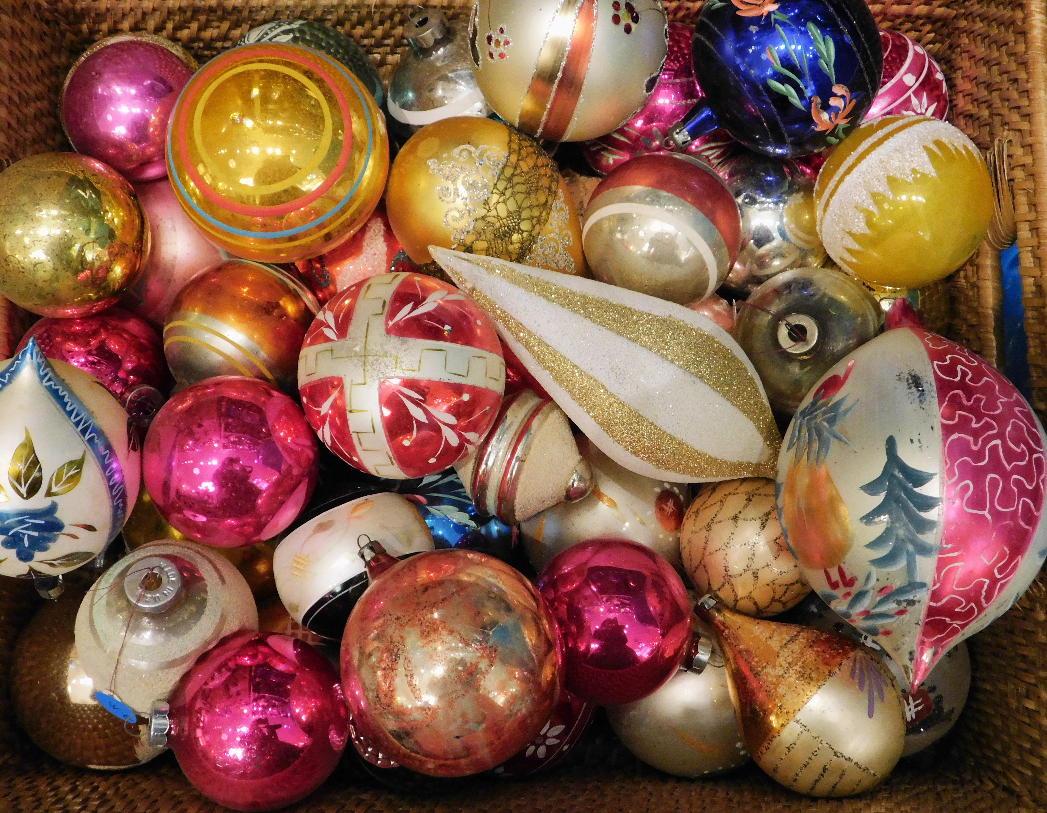 Christmas balls in glass shop wow   EpicuriousTravelers.com