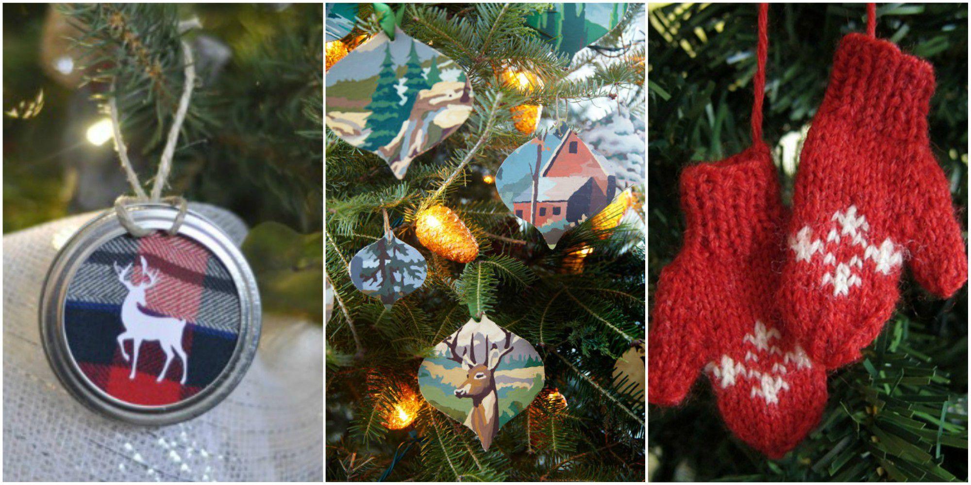 55 Homemade Christmas Ornaments - DIY Crafts with Christmas Tree ...
