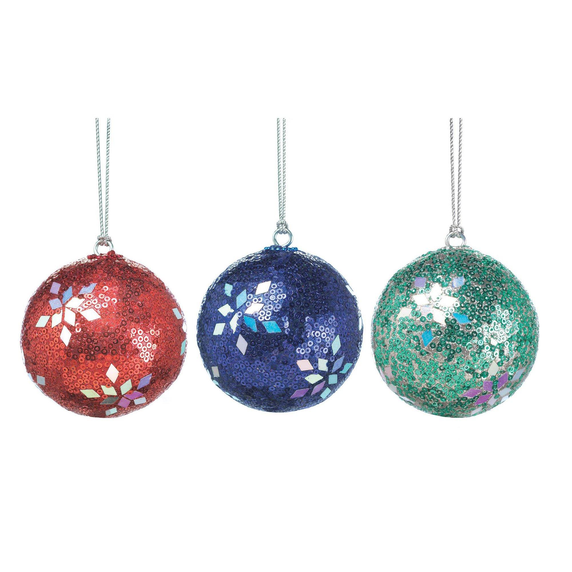 Plastic Ornament Balls, Red Blue Green Ornaments Balls For Home | eBay