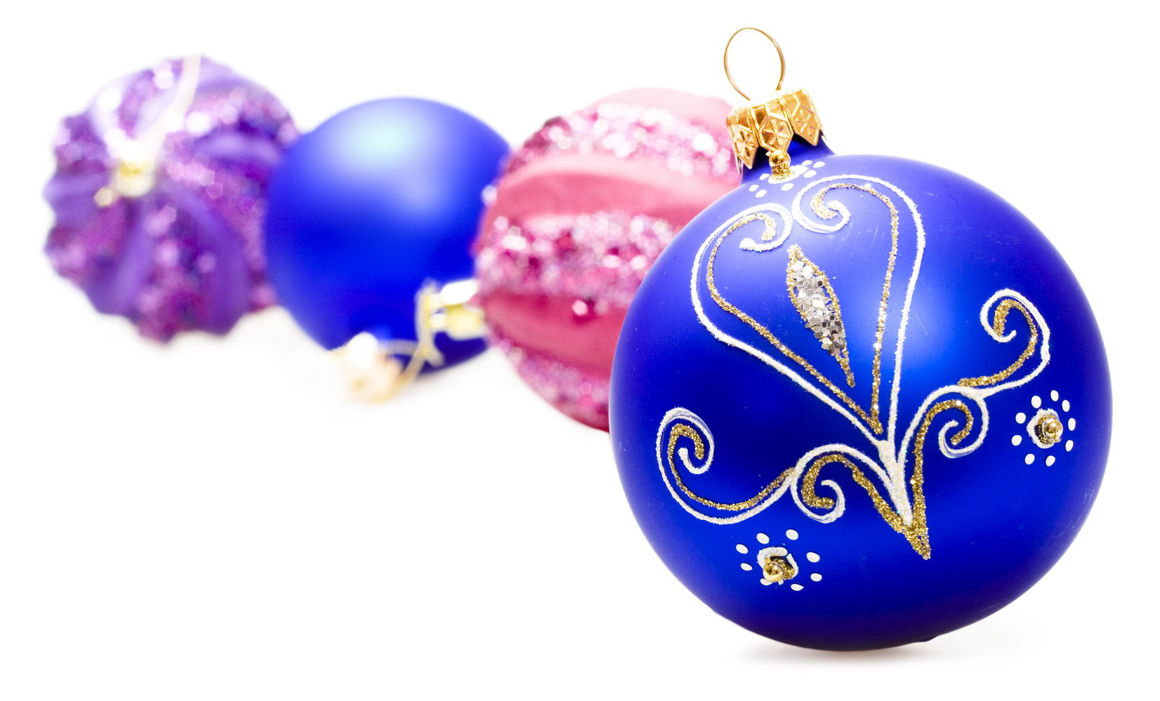 Christmas balls, Ball, Holiday, Winter, White, HQ Photo