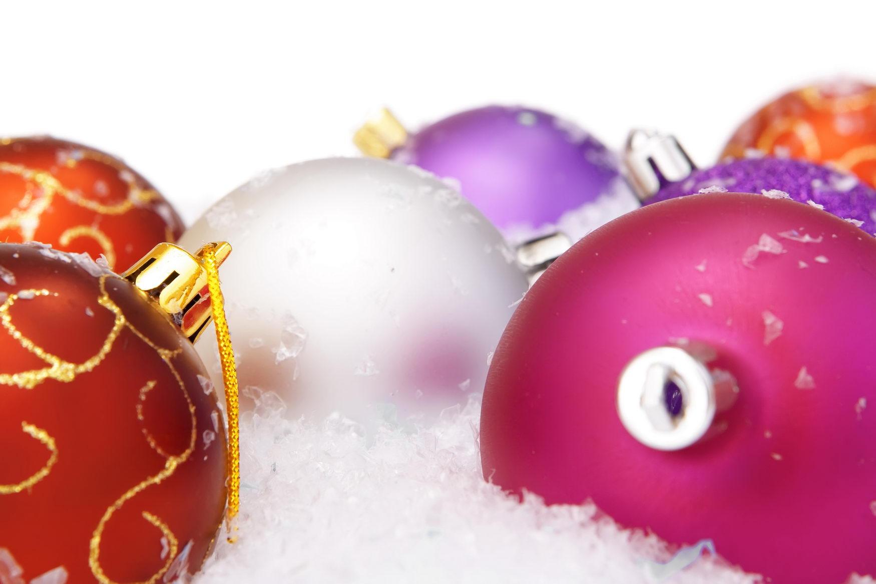 Christmas balls, Ball, Merry, Winter, White, HQ Photo