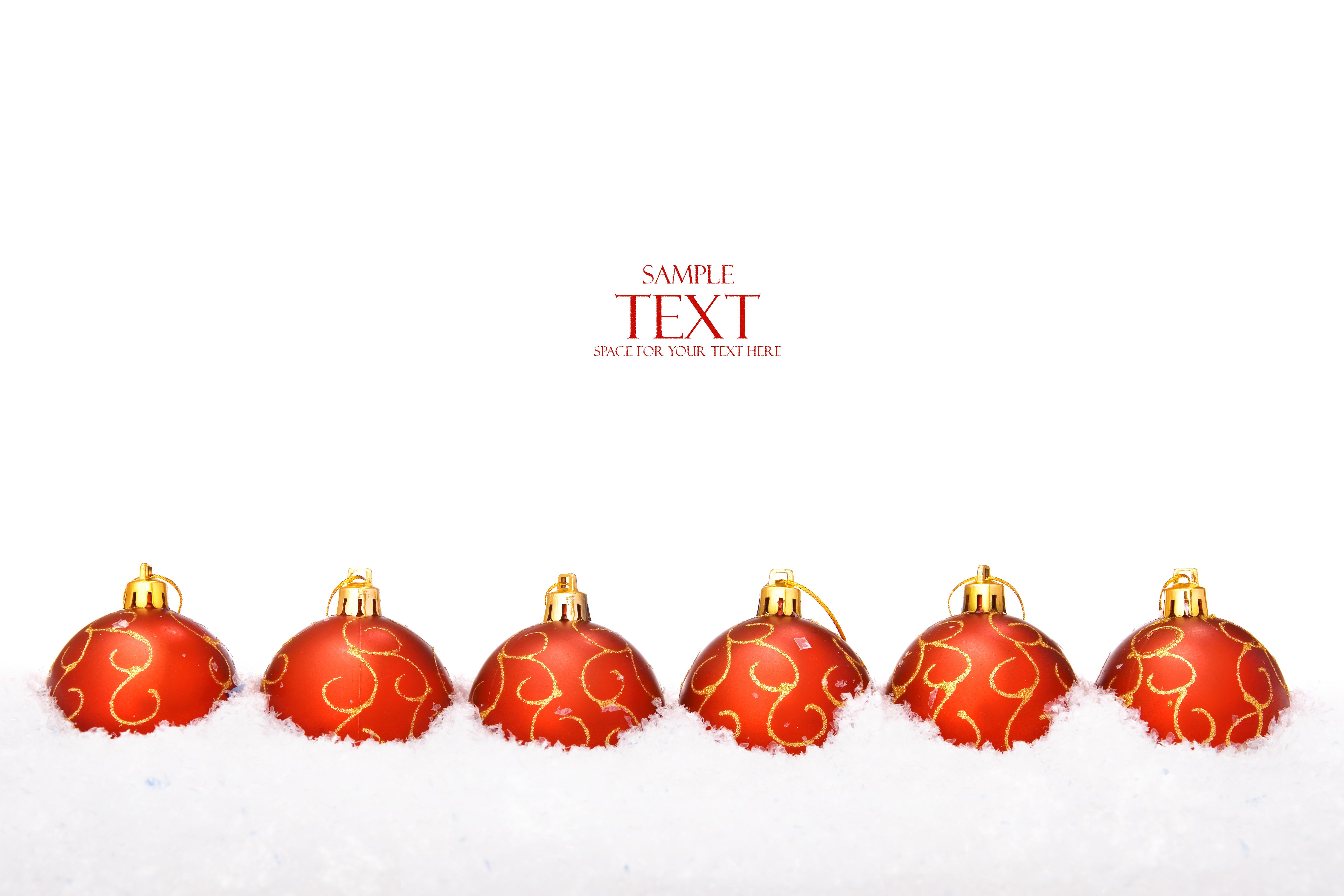 Christmas balls, Year, Merry, Xmas, Winter, HQ Photo