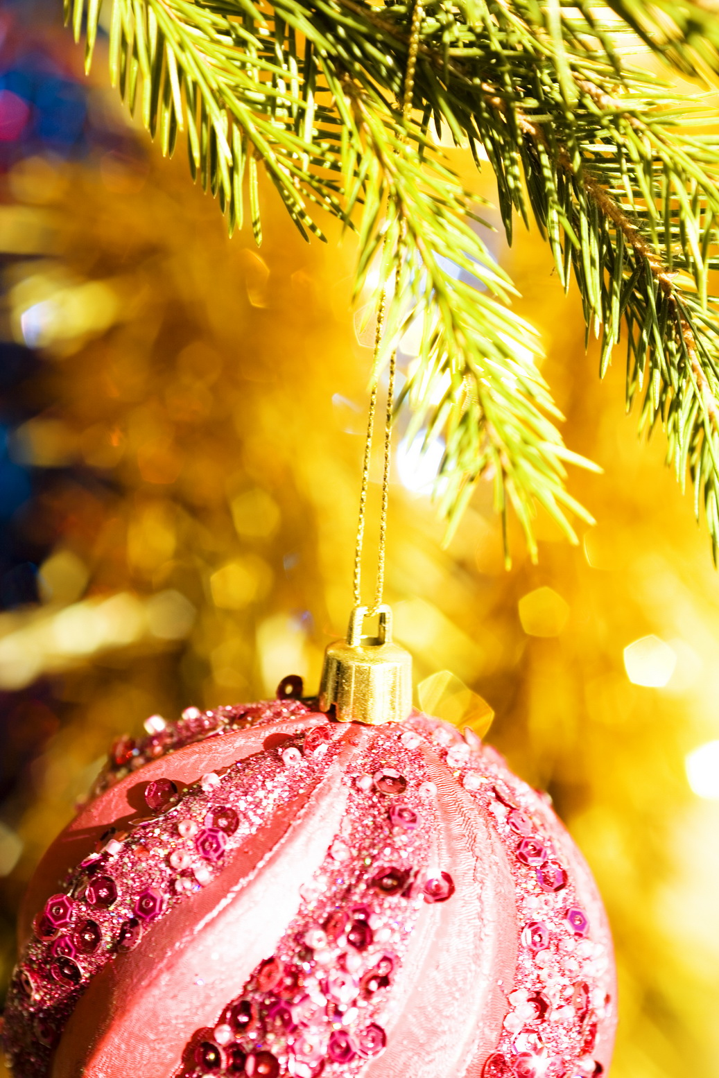 Christmas bauble photo