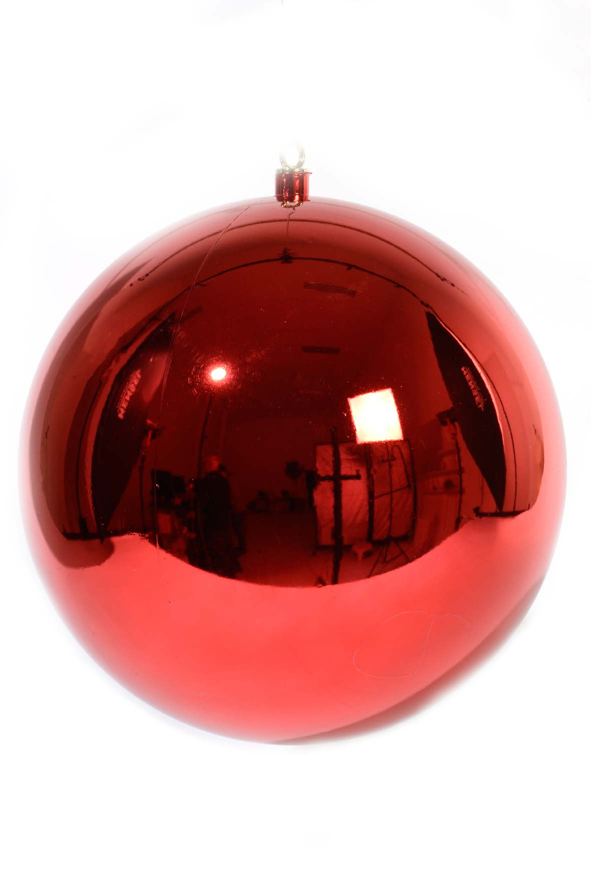 Christmas Red 400mm Shatterproof Bauble (seconds) | Christmas Style