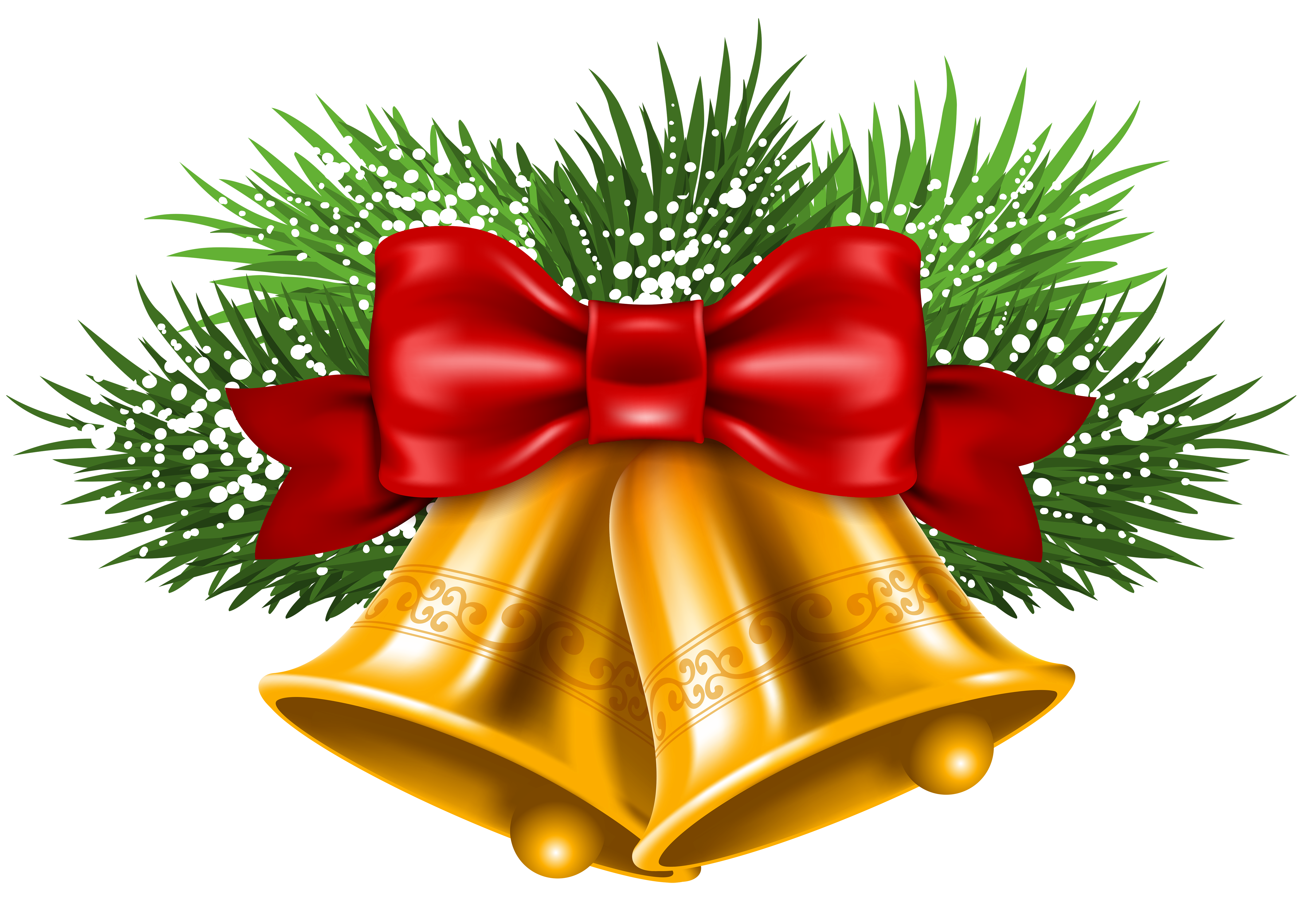Christmas Bell PNG Transparent Free Images | PNG Only