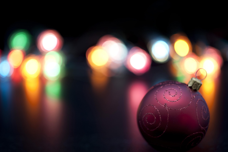 Photo of Colourful Christmas lights bokeh | Free christmas images