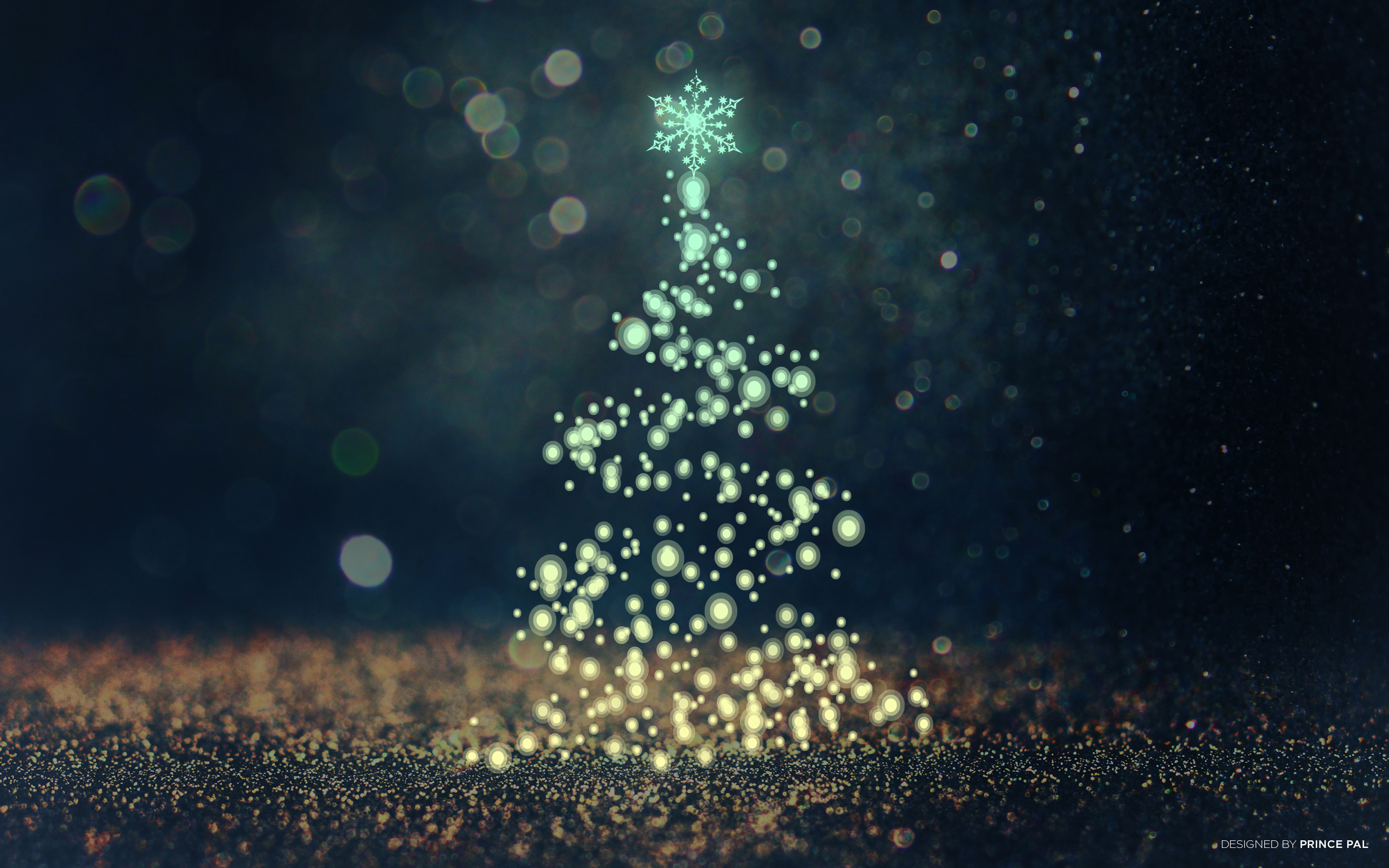 Christmas Tree Bokeh Wallpapers | HD Wallpapers | ID #19271
