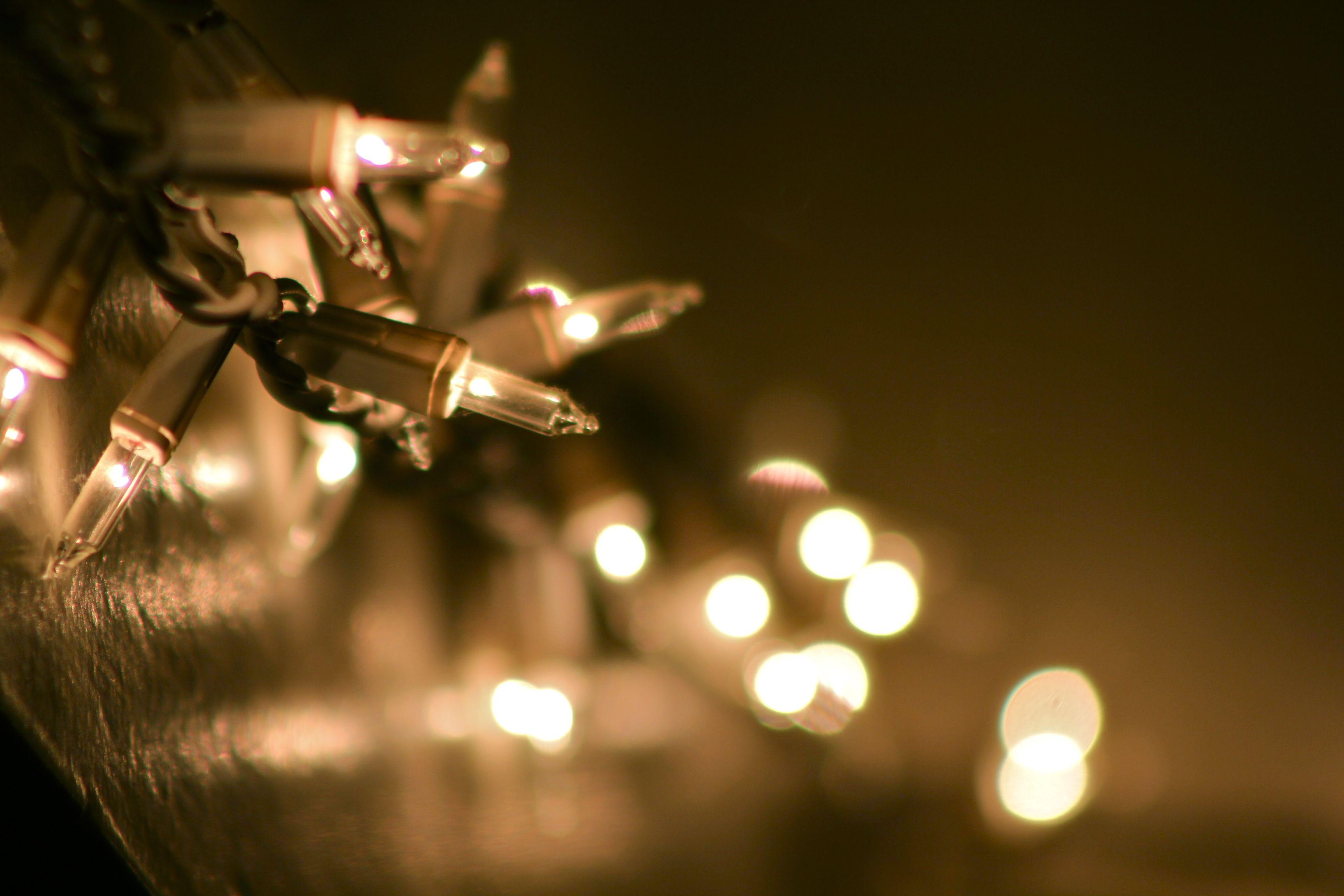 350:365 December 16 Bokeh Christmas Lights in the Dining Room ...