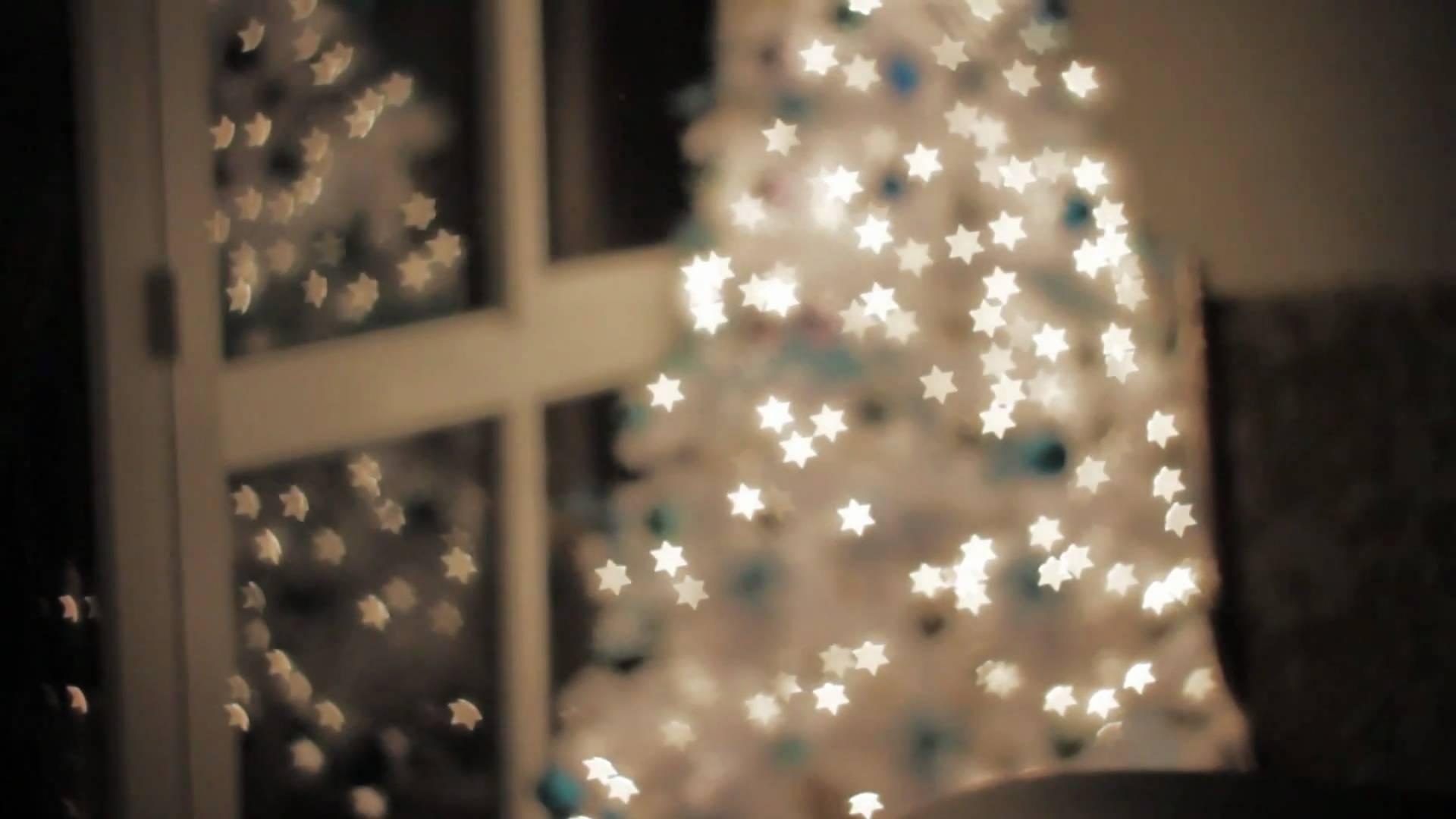 Christmas Tree Bokeh - YouTube