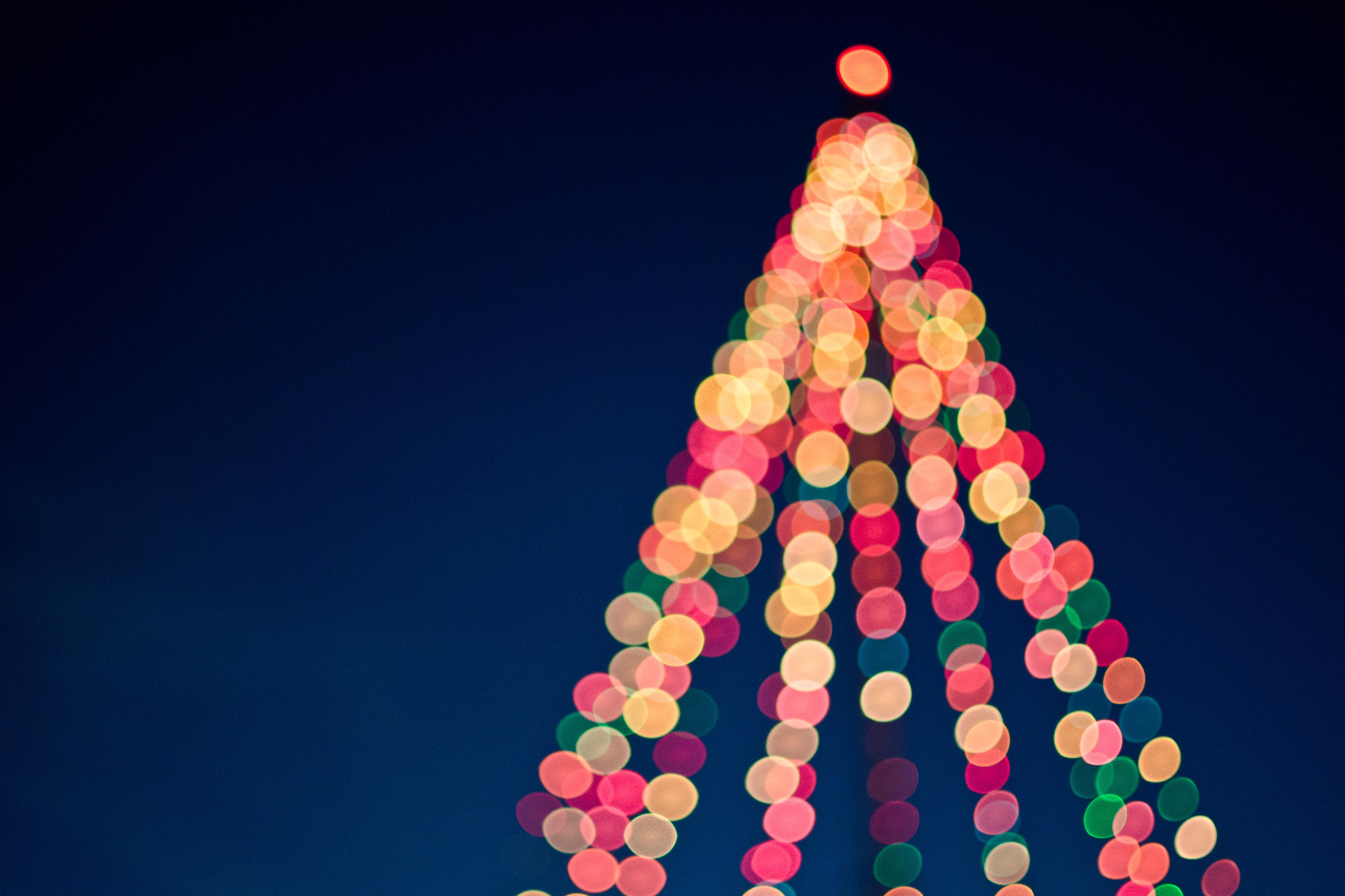 Bokeh Christmas Tree Lights – Imagexplorer