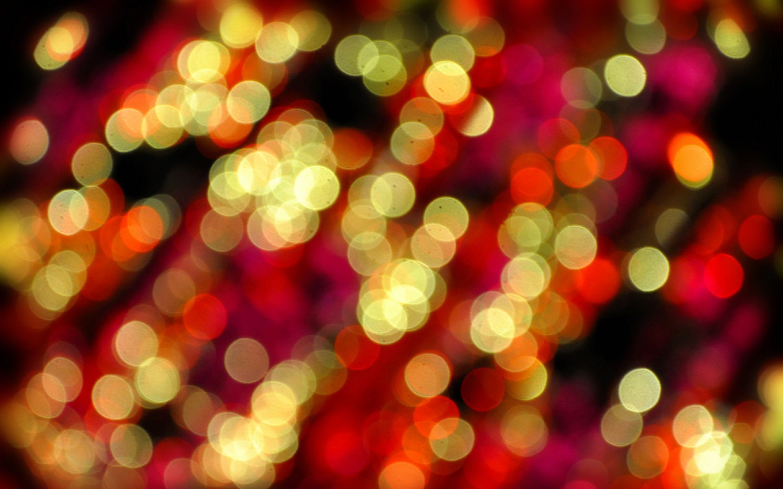 Christmas Bokeh Photography HD Wallpaper, Background Images