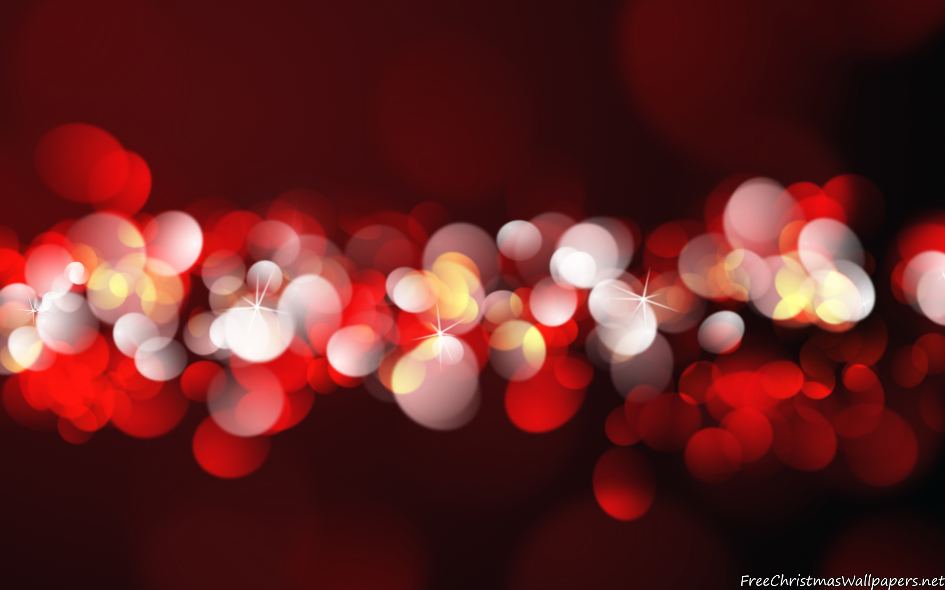 Christmas Bokeh Background HD Wallpaper, Background Images