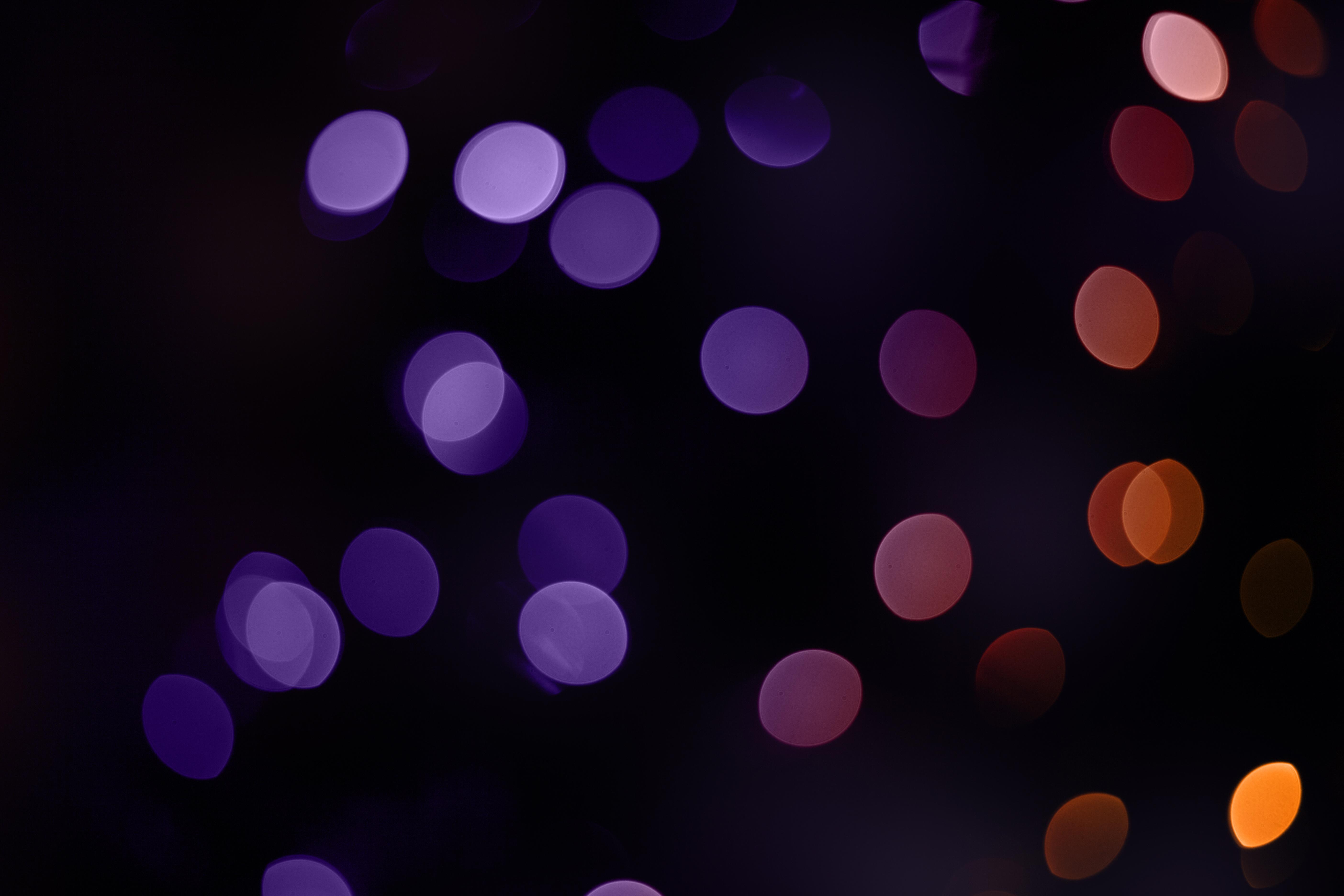 Christmas Bokeh, Abstract, Blur, Blurry, Bokeh, HQ Photo