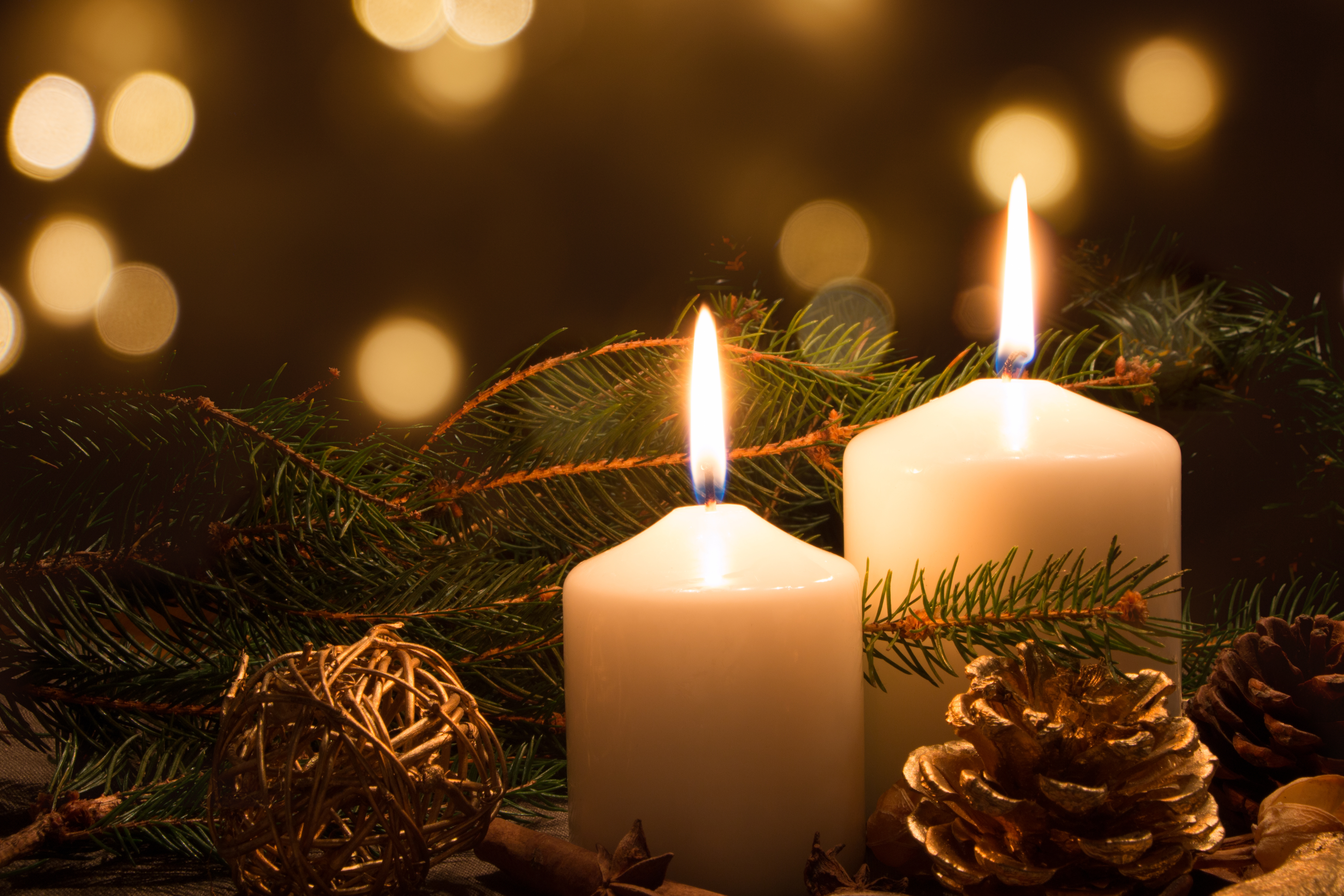 Christmas candles and lights - National Candle Association