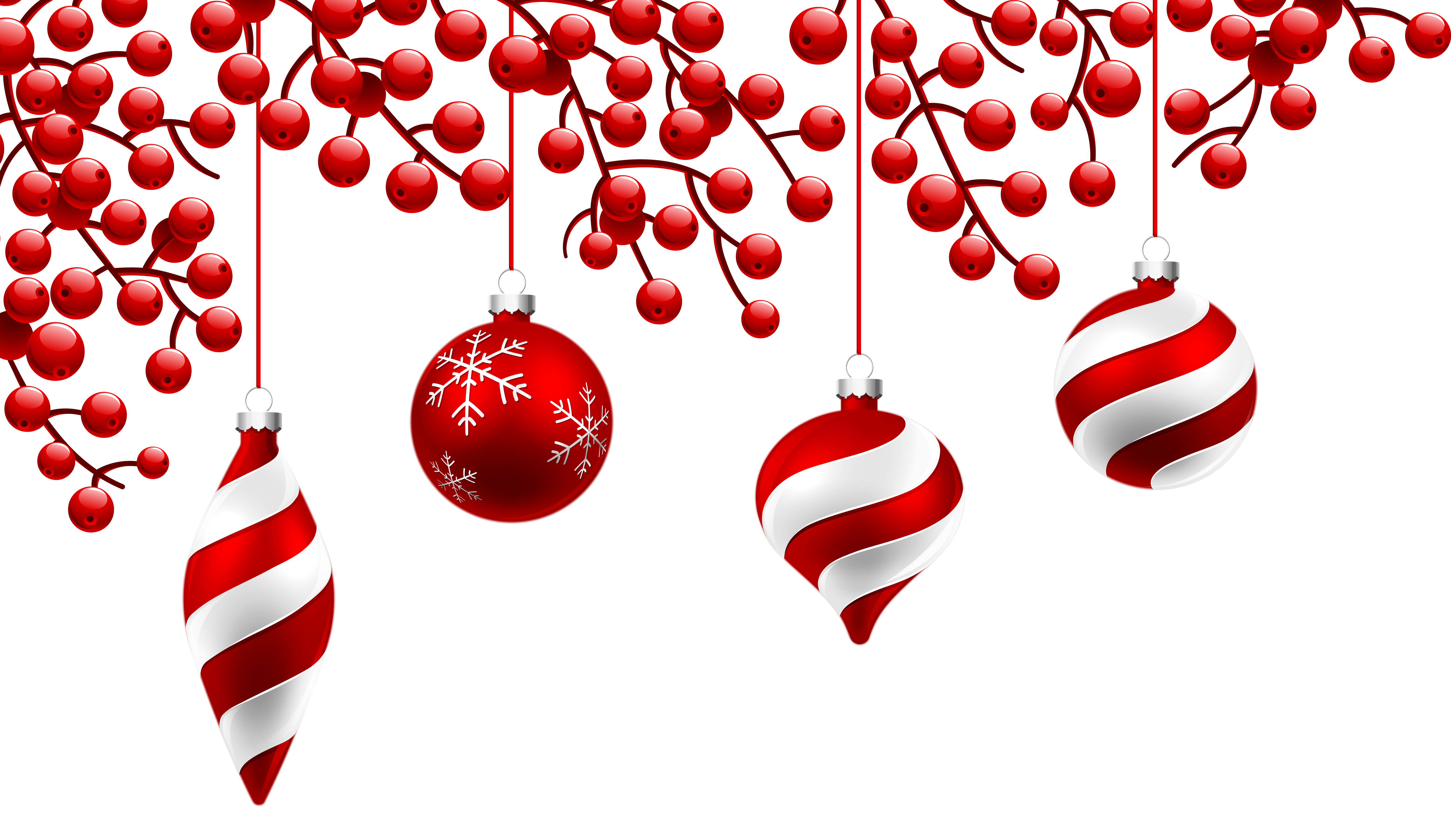 Red Christmas Decoration PNG Clipart Image | Gallery Yopriceville ...