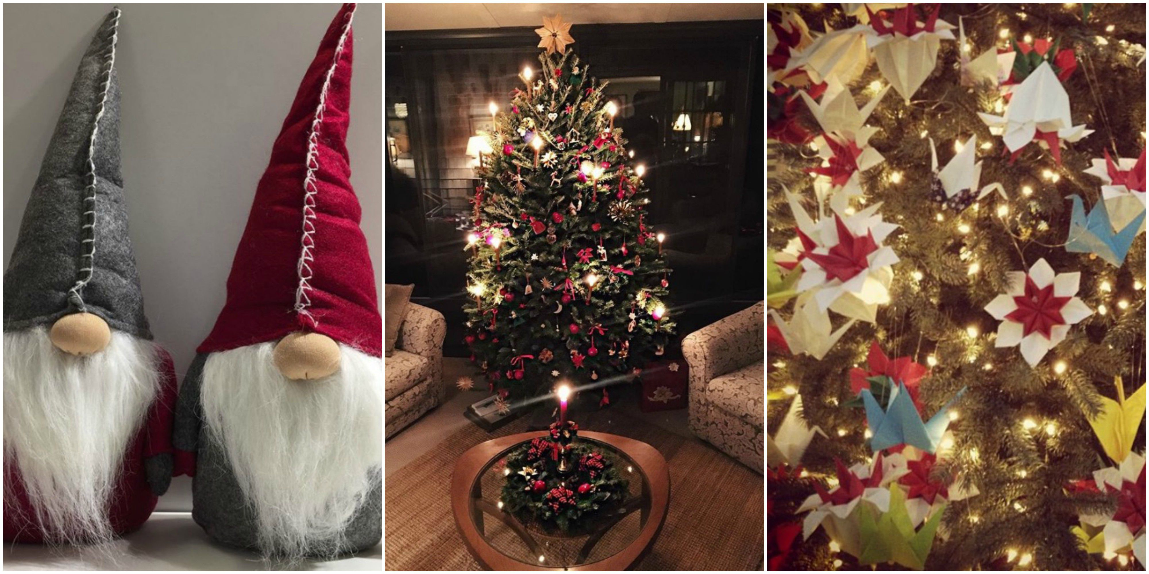 12 Different Ways Christmas Trees Are Decorated Around The World ...