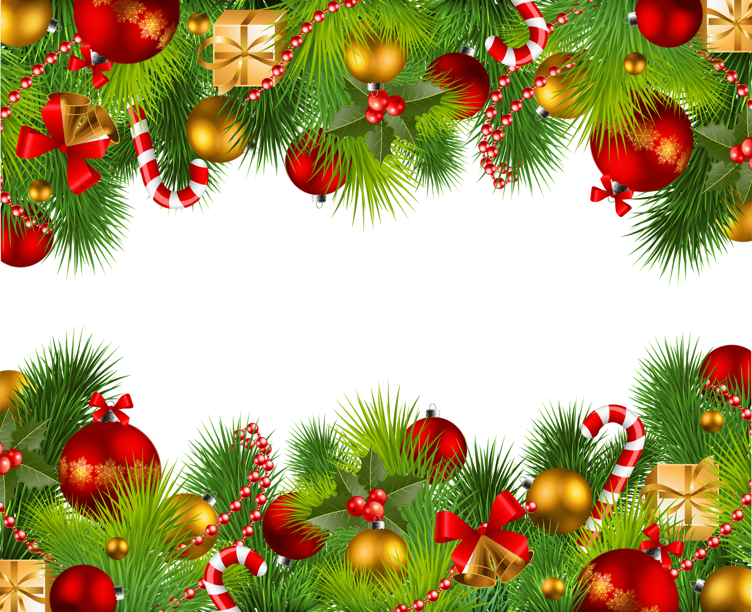 Christmas Double Frame transparent PNG - StickPNG