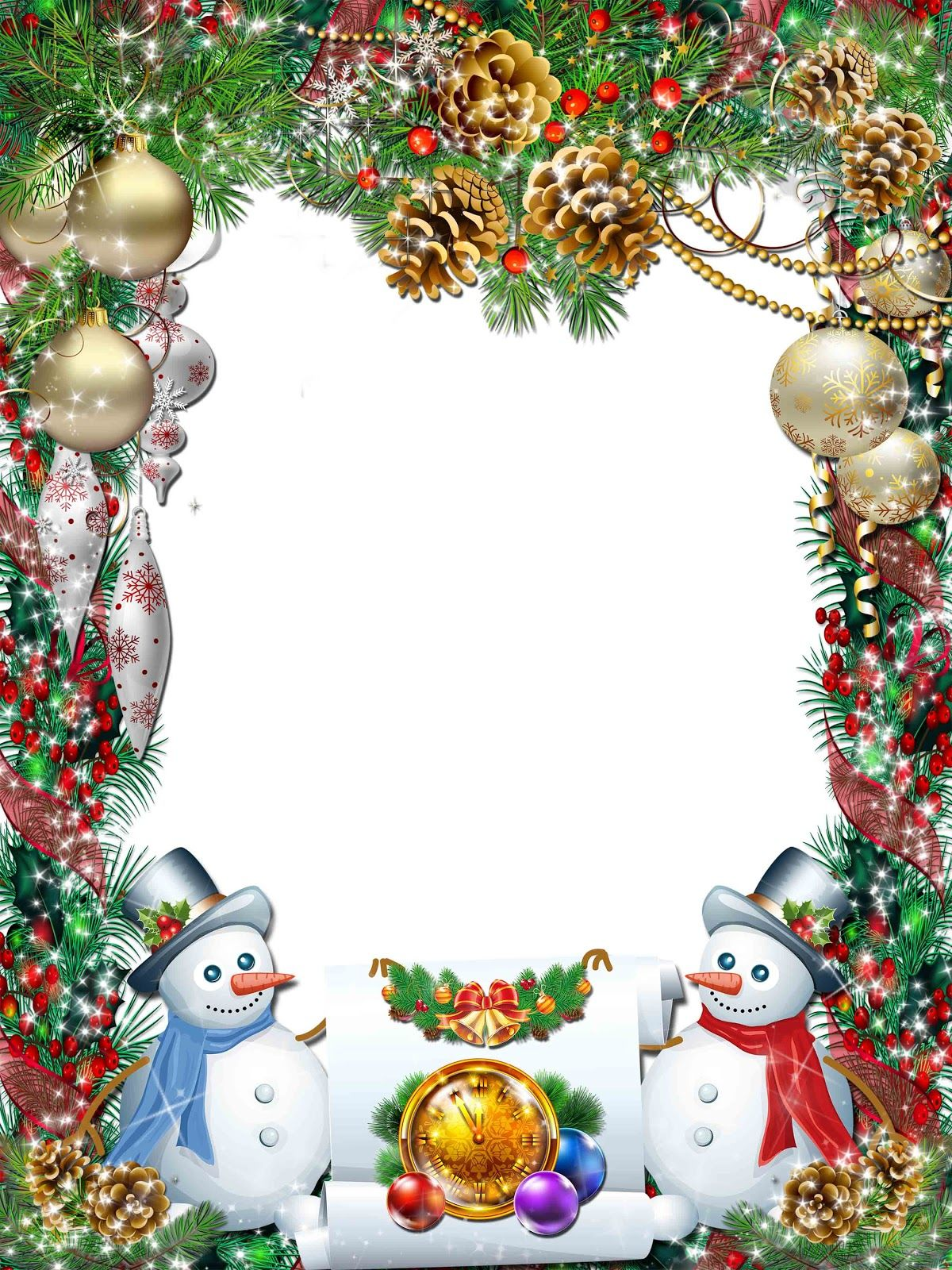 christmas frames | download Christmas png frame (free) | Christmas ...