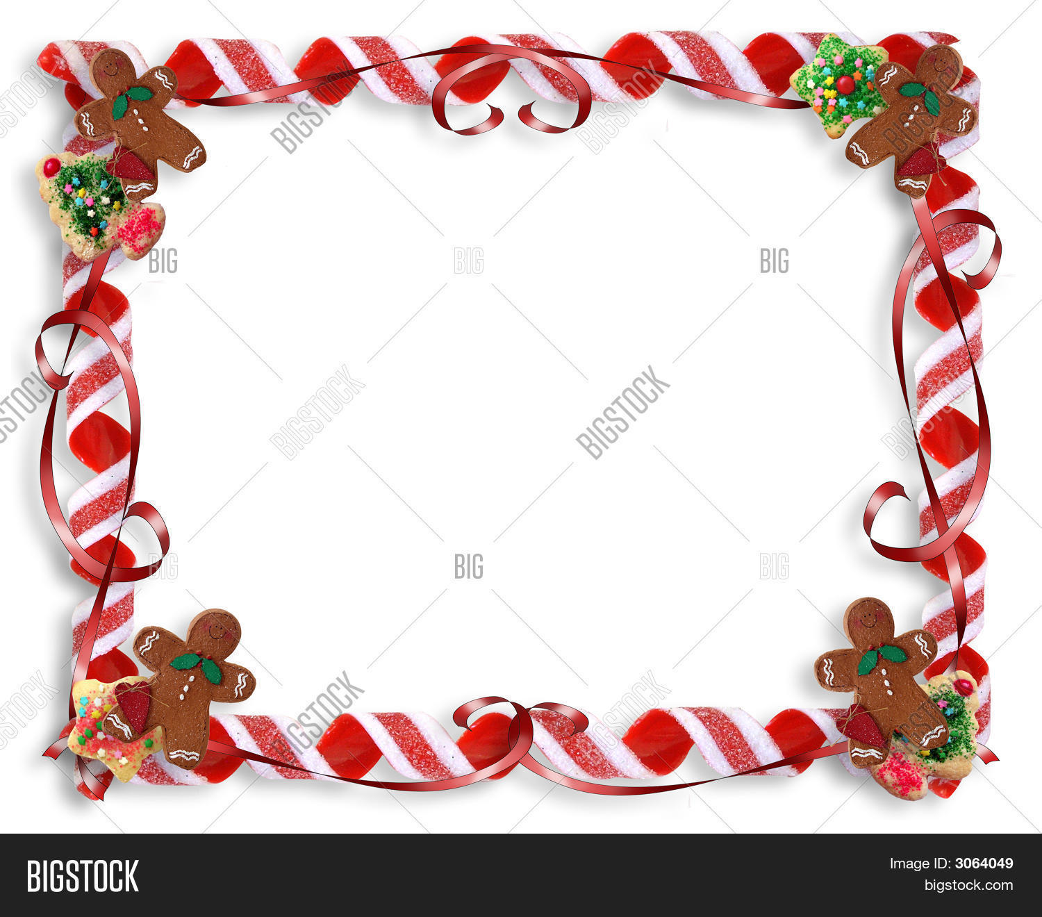 Christmas Treats Frame Background Image & Photo | Bigstock