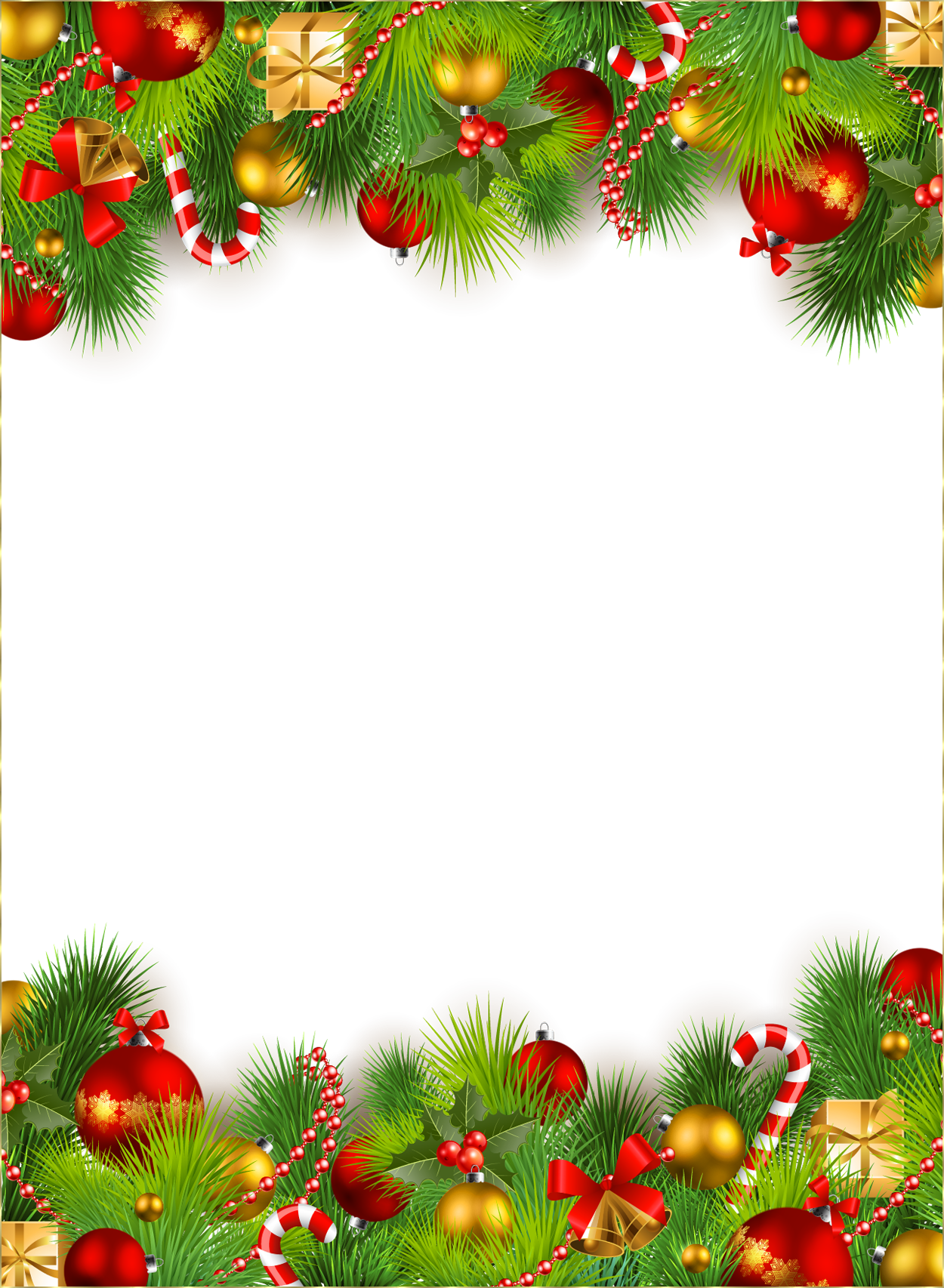 Christmas frame png #35327 - Free Icons and PNG Backgrounds