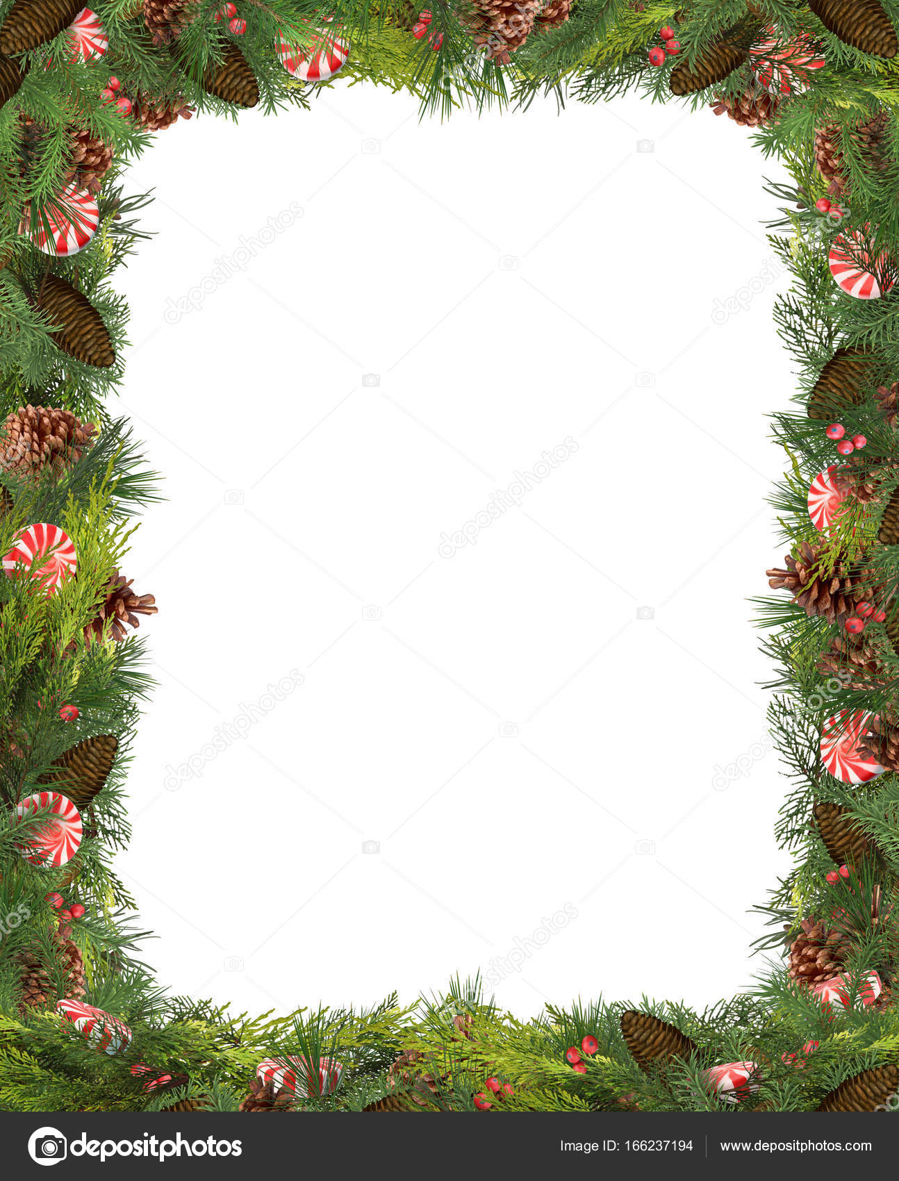 Christmas frame photo