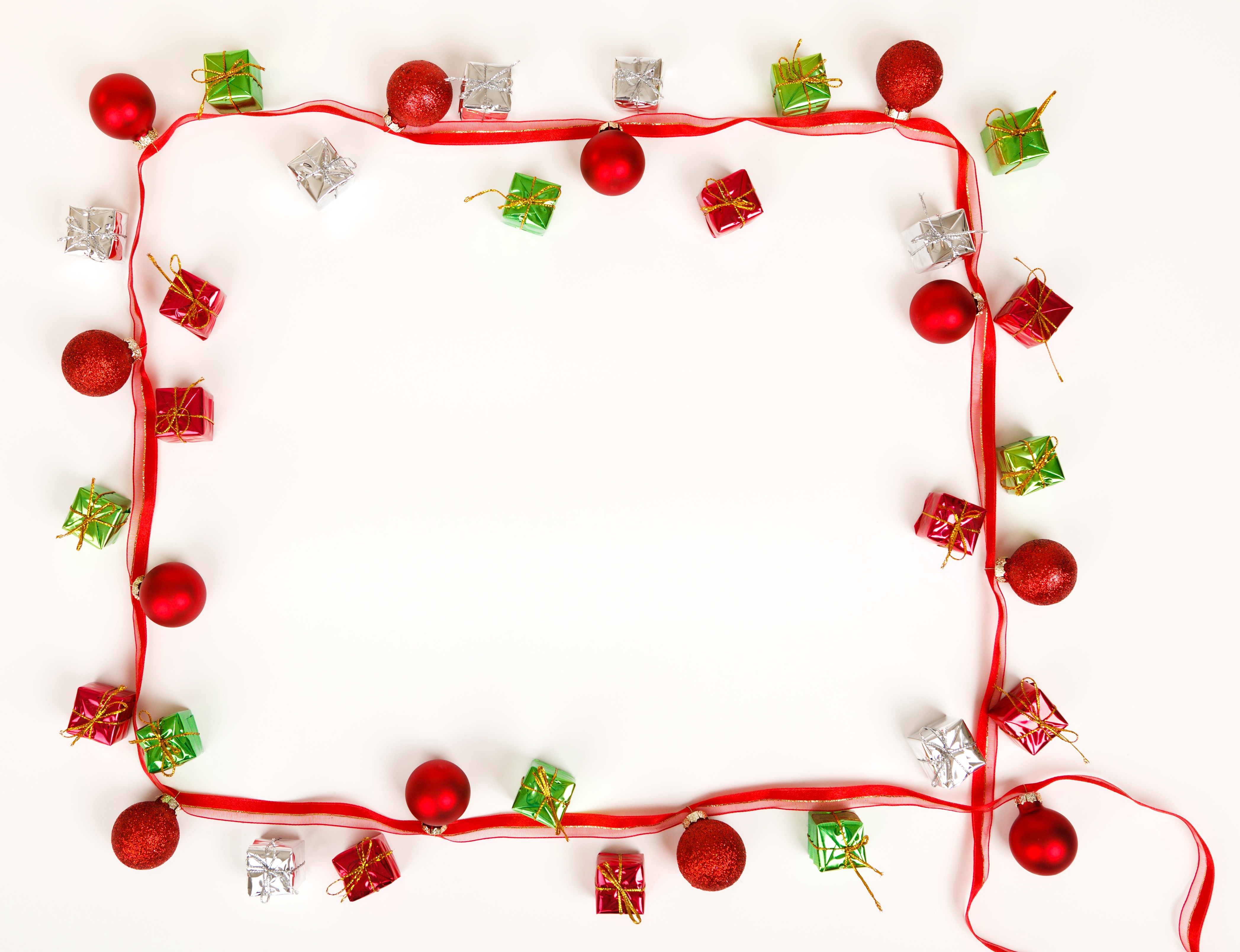 Christmas frame border - Photopublicdomain.com