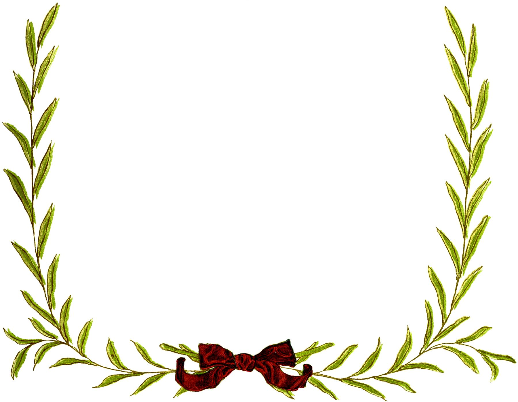 Simple Christmas Wreath Frame Images | Simple christmas, Wreaths and ...