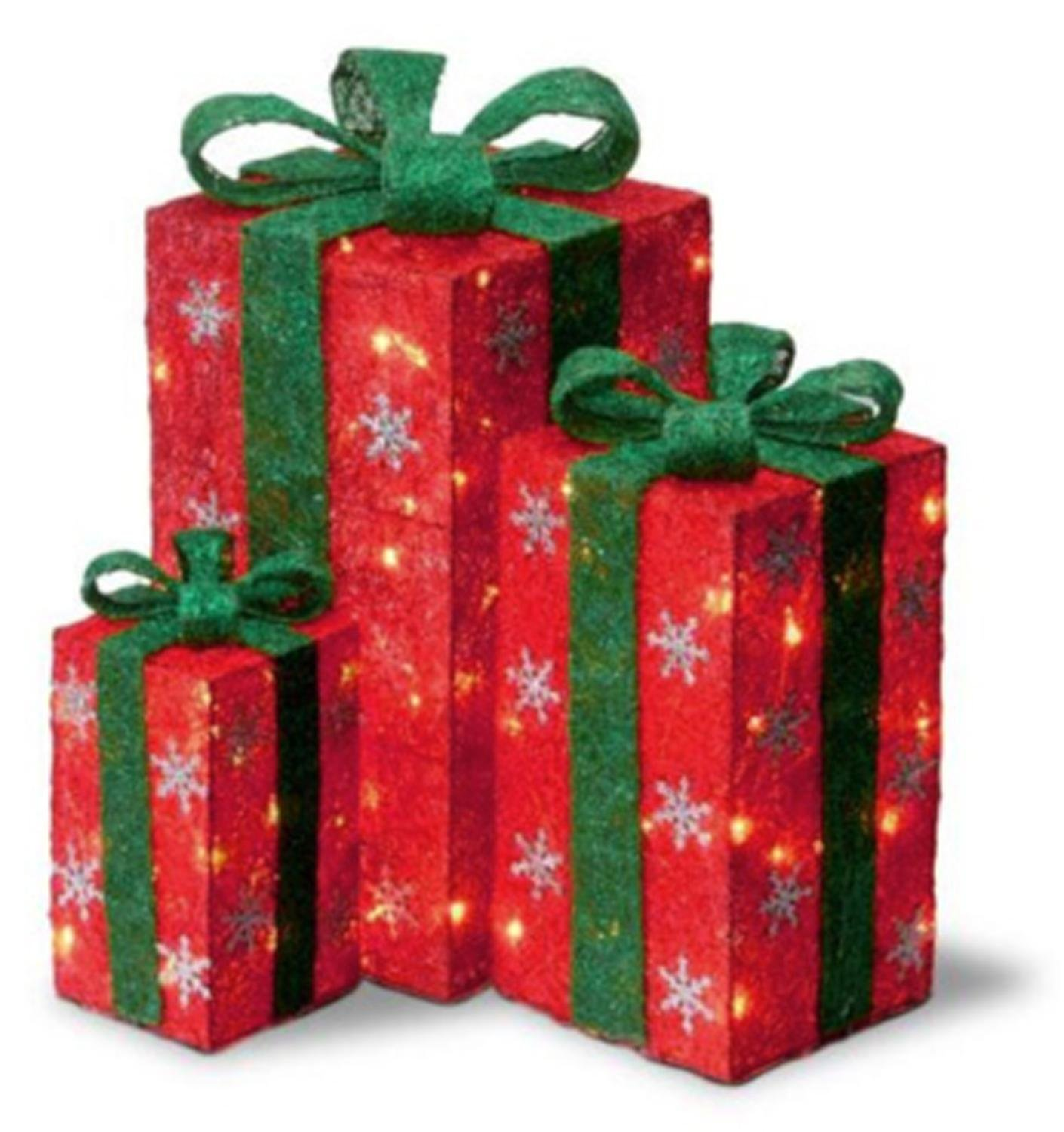 christmas gift boxes - Decorative Christmas Gift Boxes With Lids