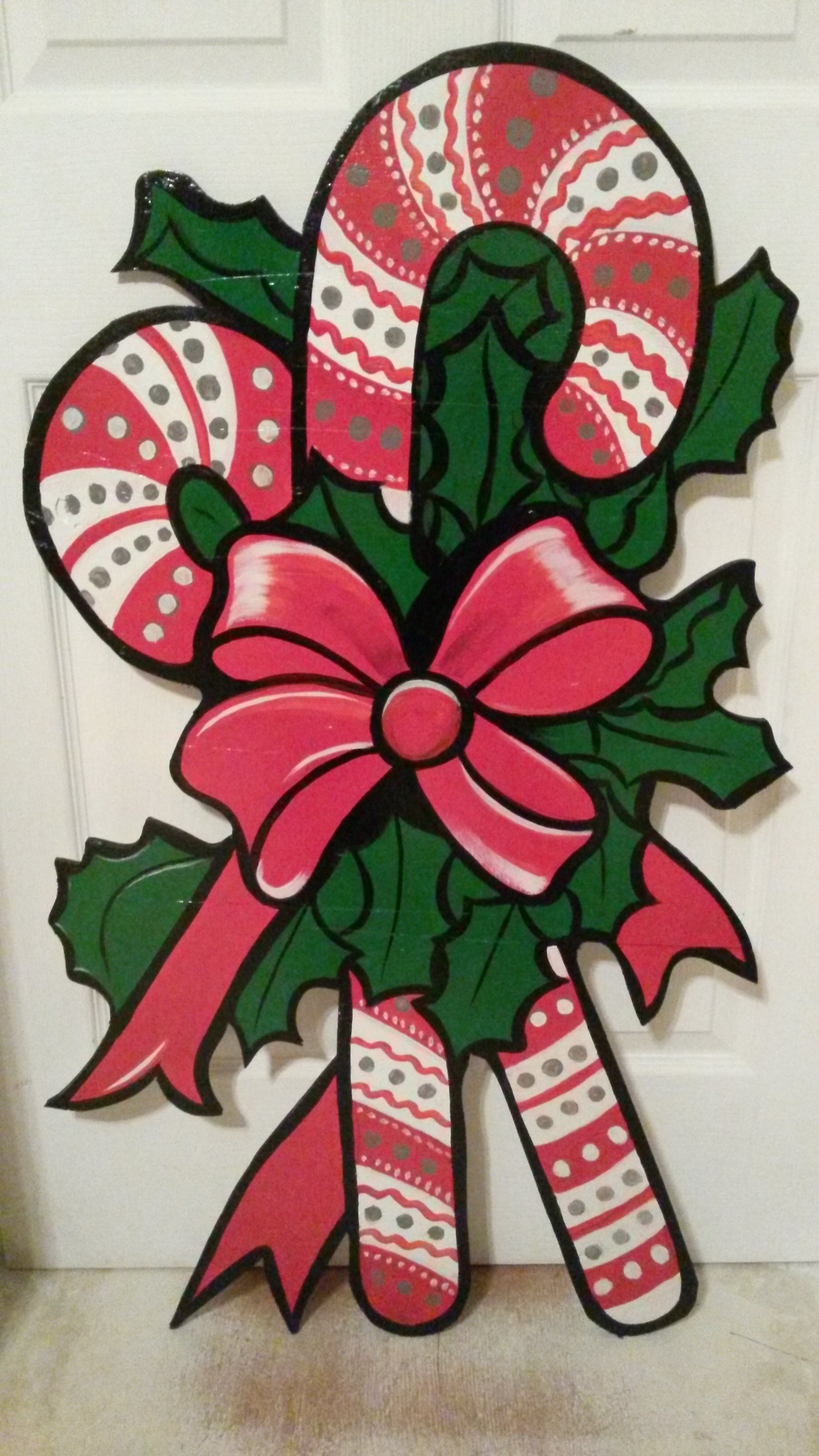 Christmas Wood Cutouts | Debra Grayson