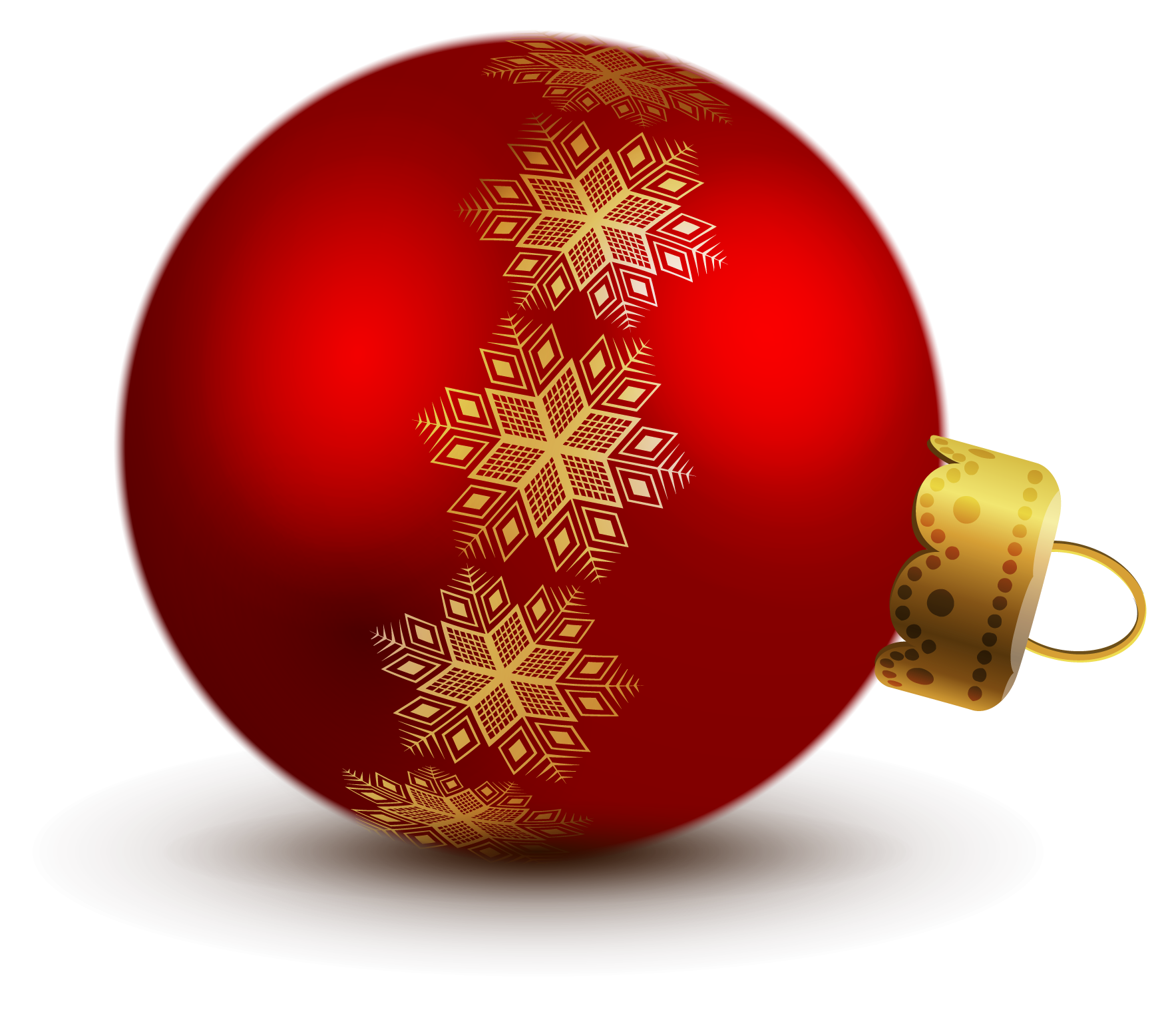 Transparent Red Christmas Ball Ornaments Clipart | christmas holiday ...