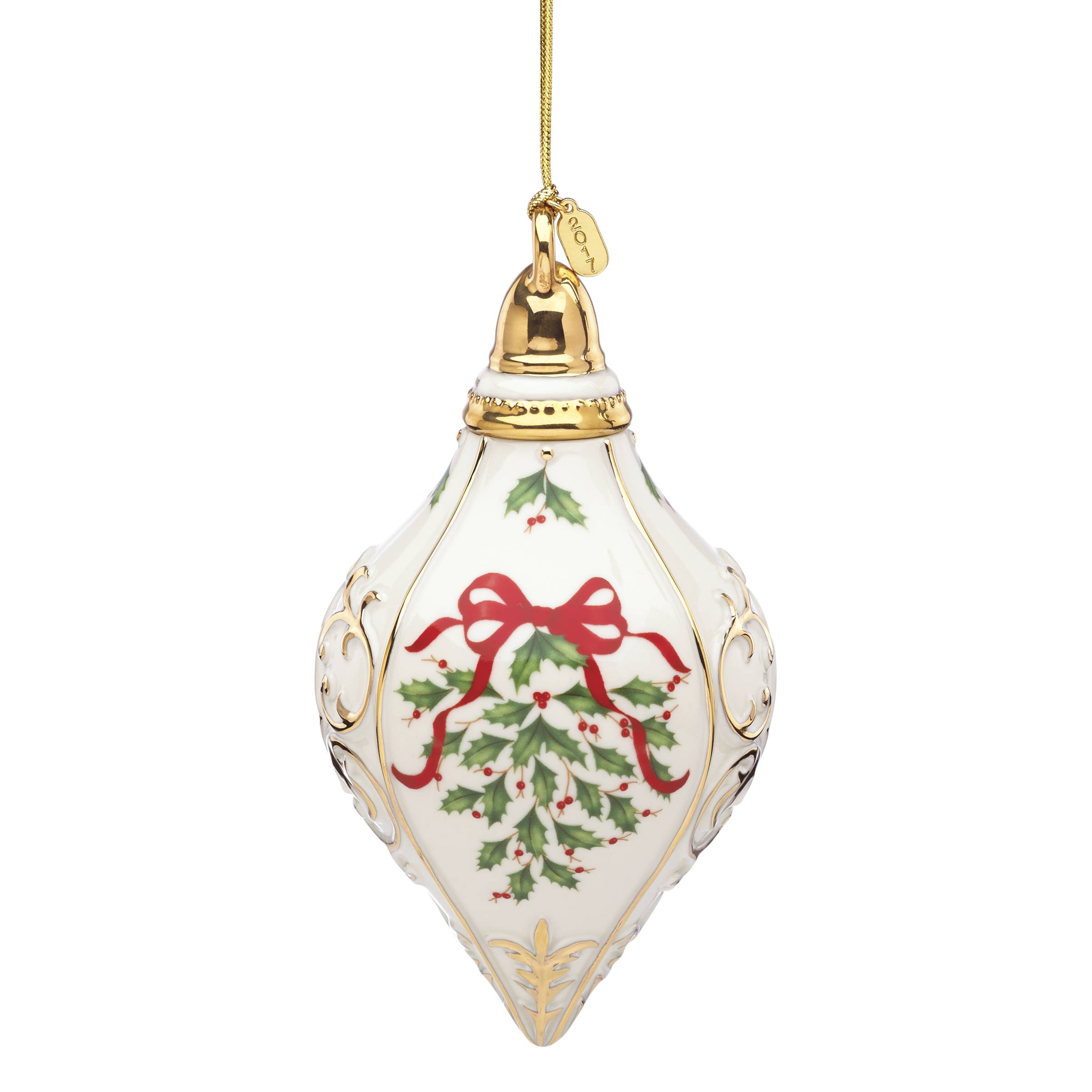 Lenox Annual Holiday Ornament 2017 | Lenox Christmas Ornaments