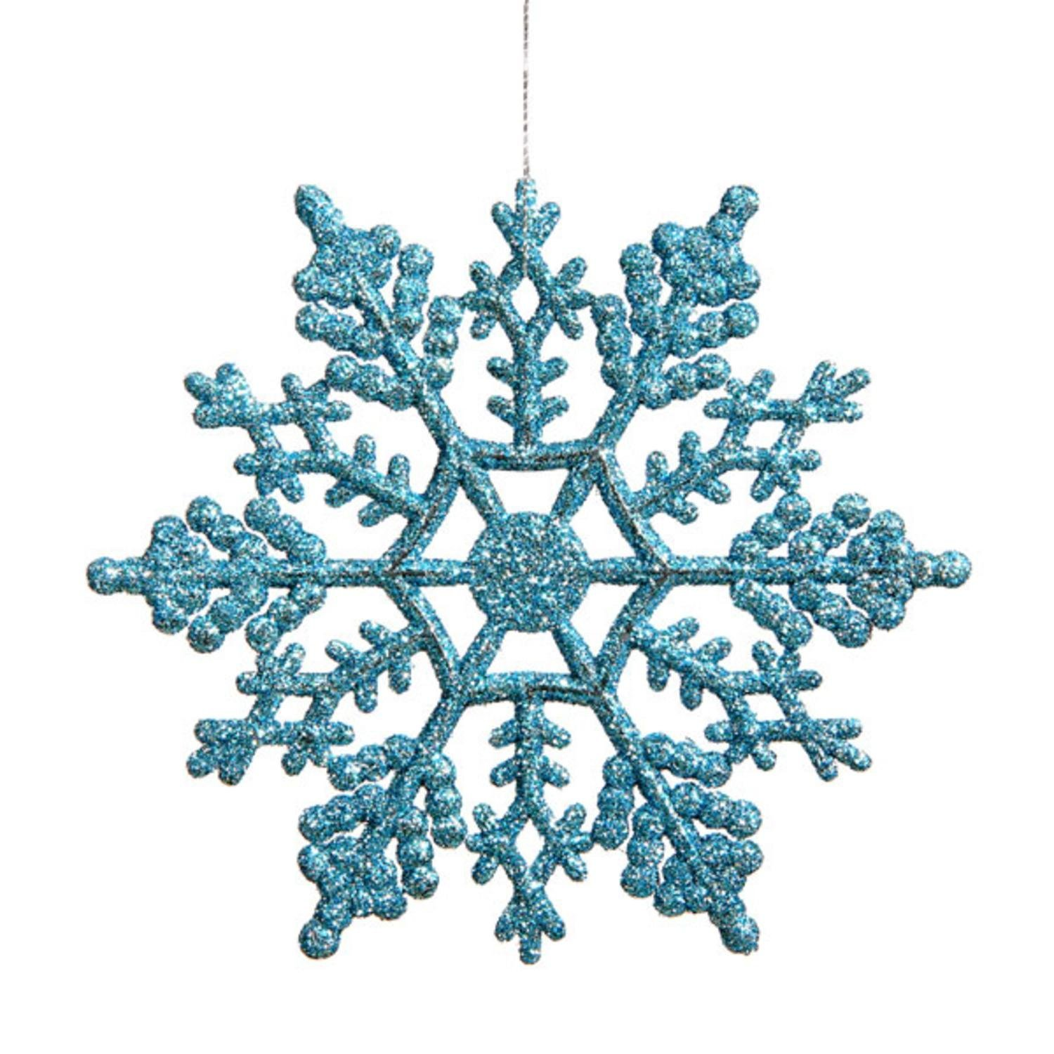 Christmas snowflake photo