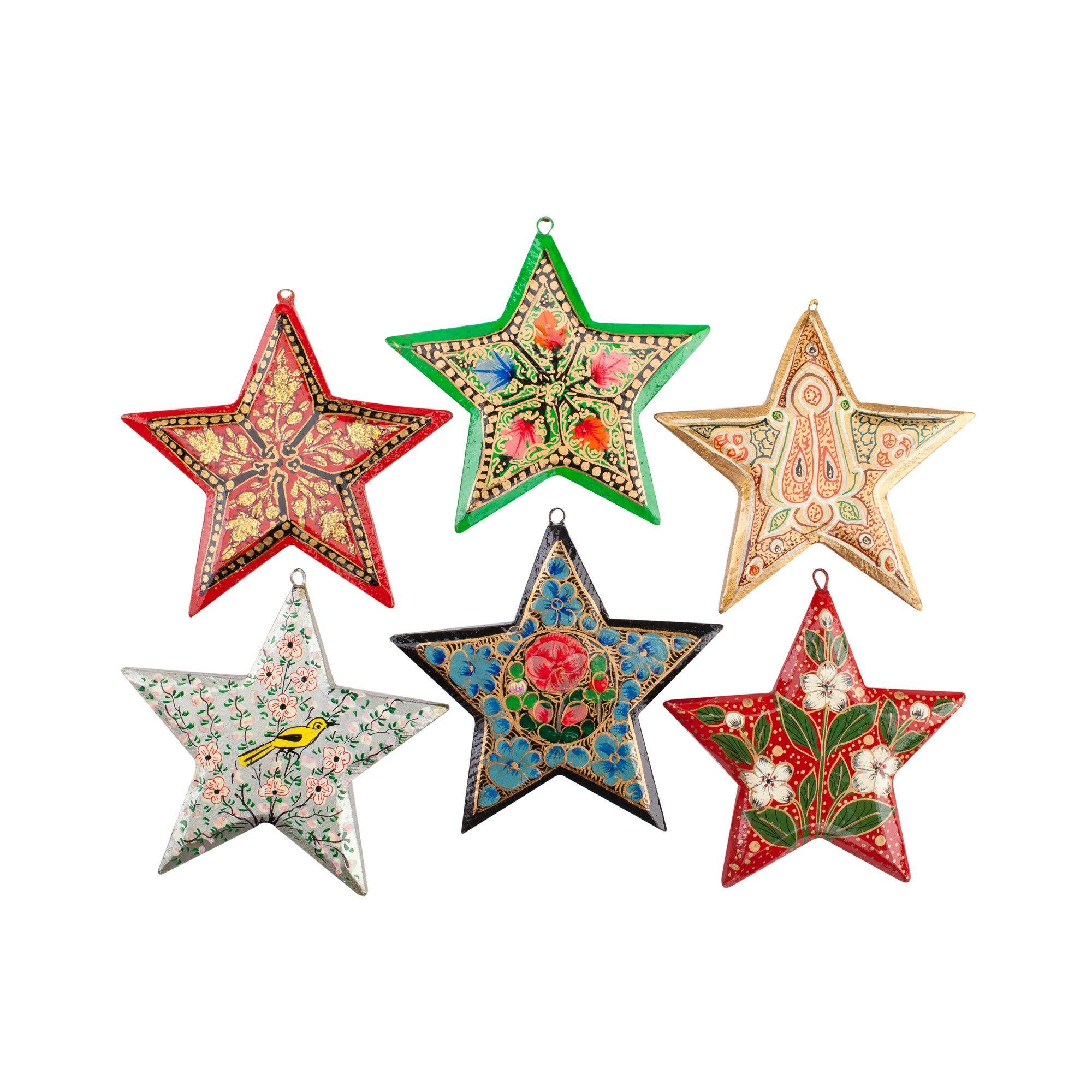 Christmas star decoration photo