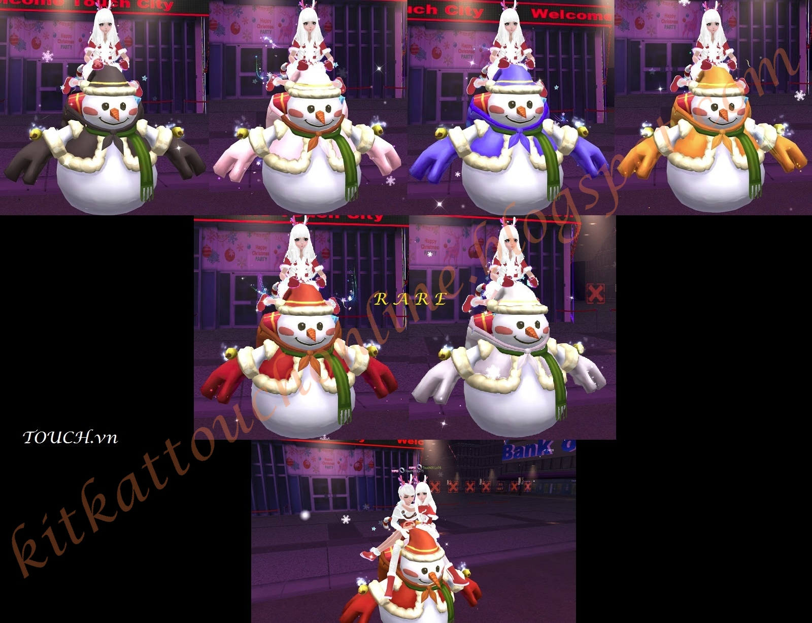 Xmas Egg (Snowman) - Touch Online World